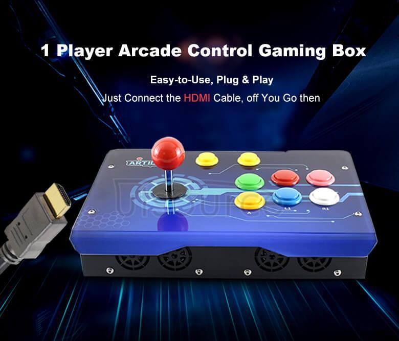 Arcade-C-1P arcade console illustration