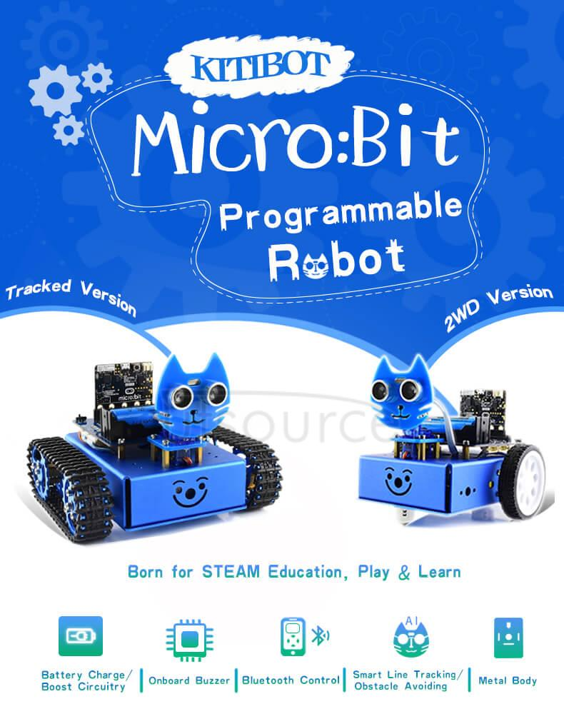 KitiBot for micro:bit W illustration