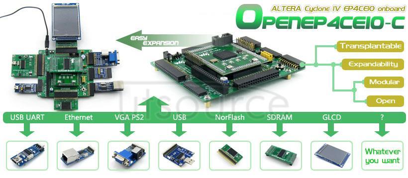 EP4CE10 development board
