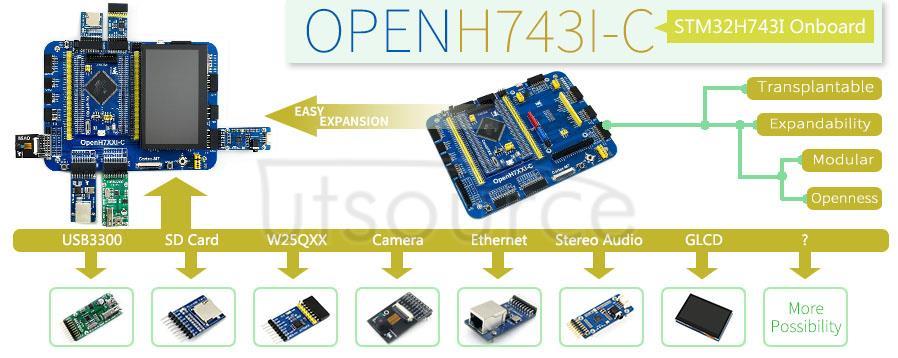 STM32H743IIT6 development board