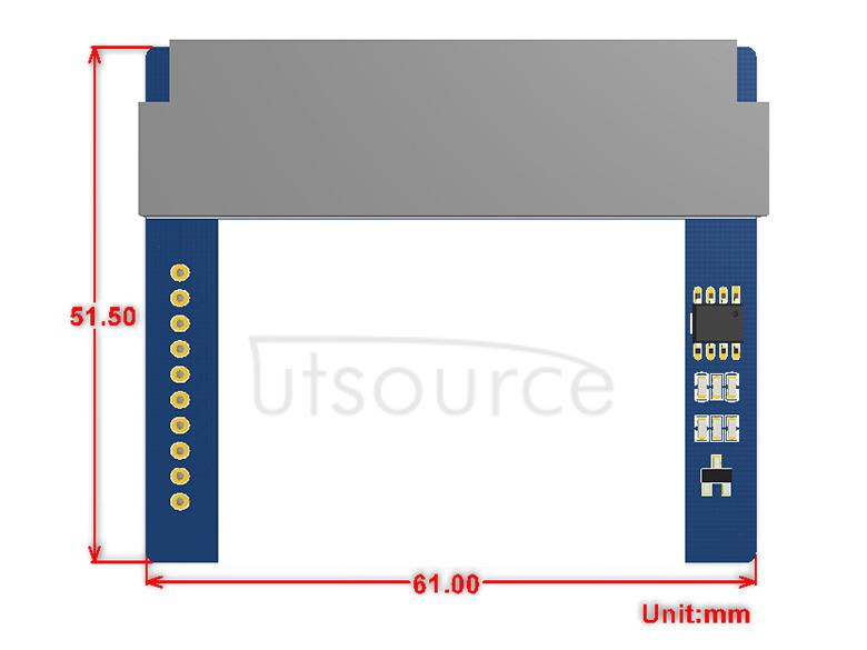 1.8inch LCD for micro:bit dimensions