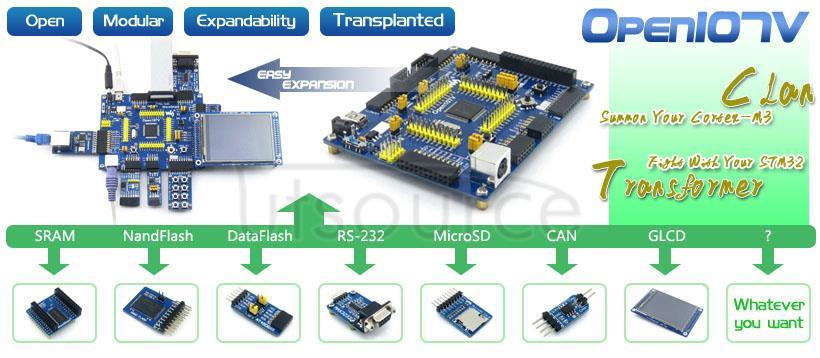 STM32F107VCT6 development board