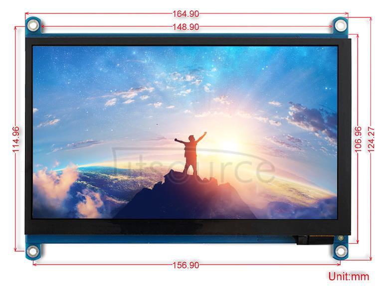 7inch-HDMI-LCD-H-dimension
