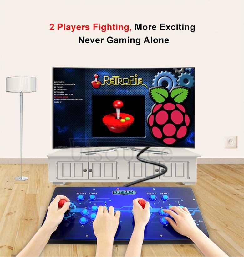 Arcade-C-2P arcade console illustration