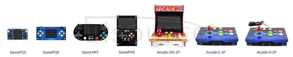 Arcade Machine Console Control Box Selection