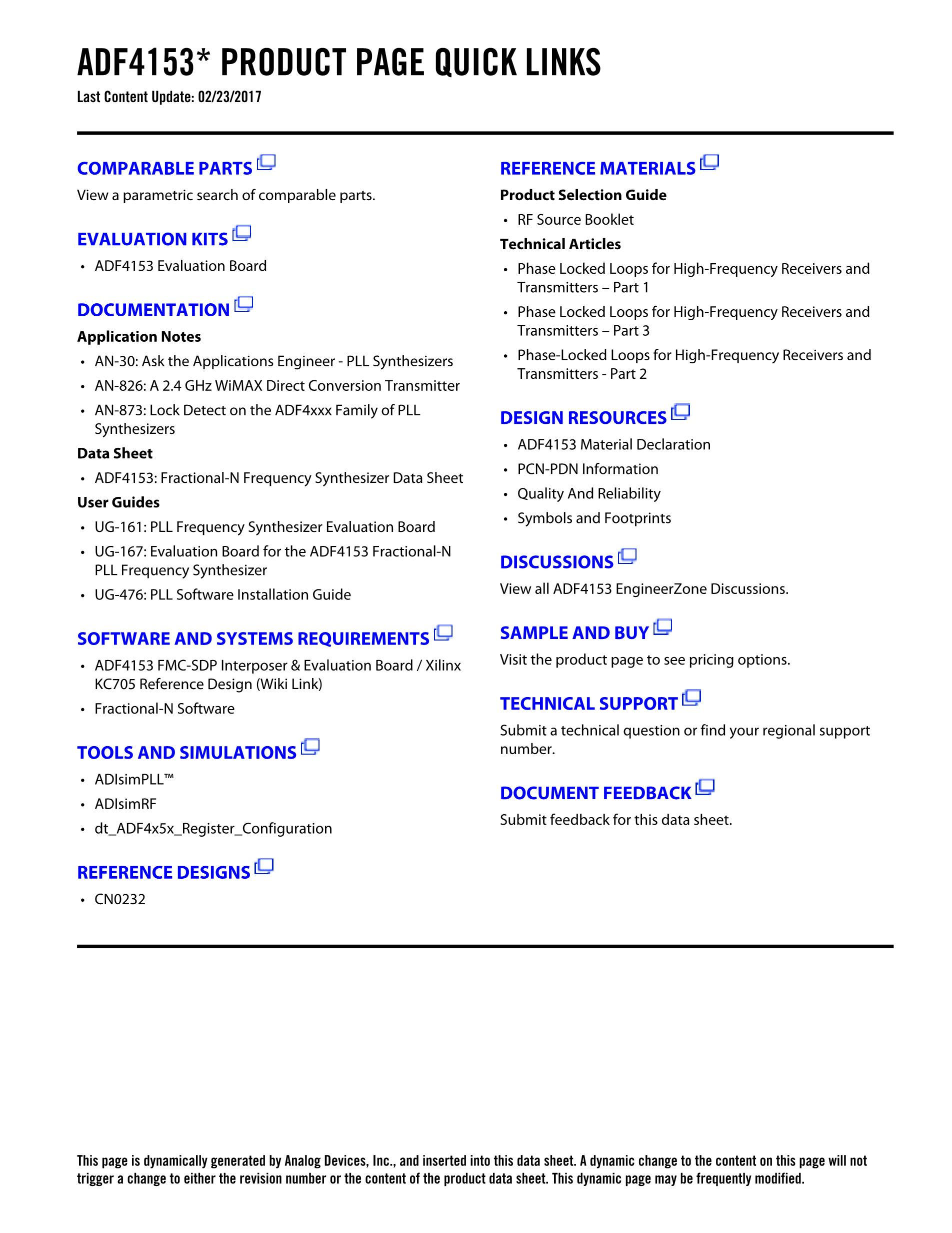 ADF4212LBCPZ-RL's pdf picture 2