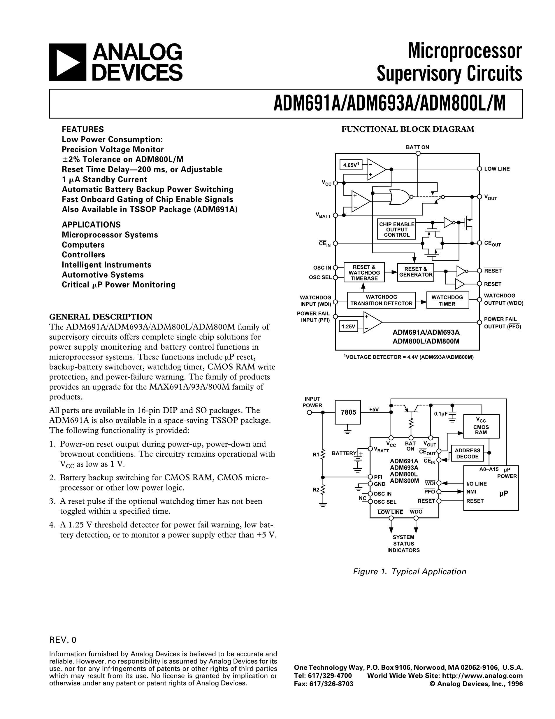 ADM693's pdf picture 1
