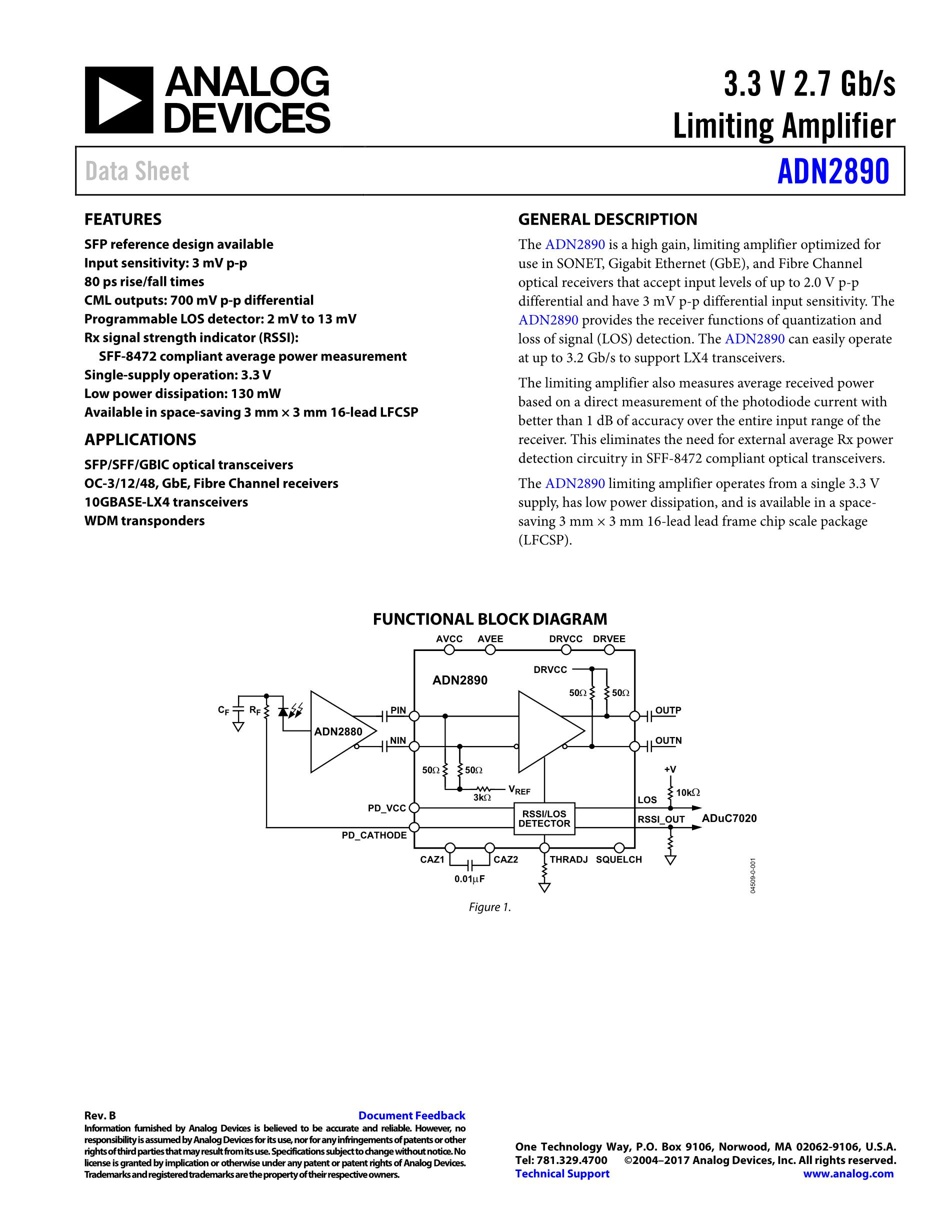 ADN2531ACPZ's pdf picture 1