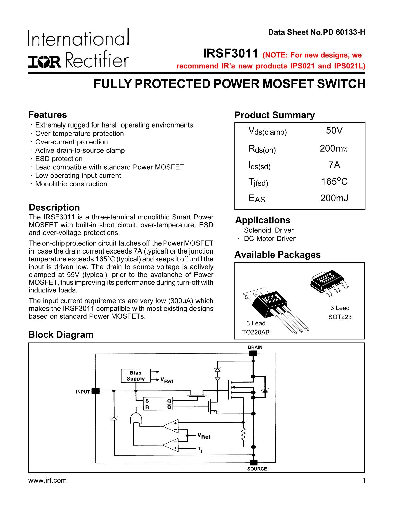 IRSF3012L's pdf picture 1