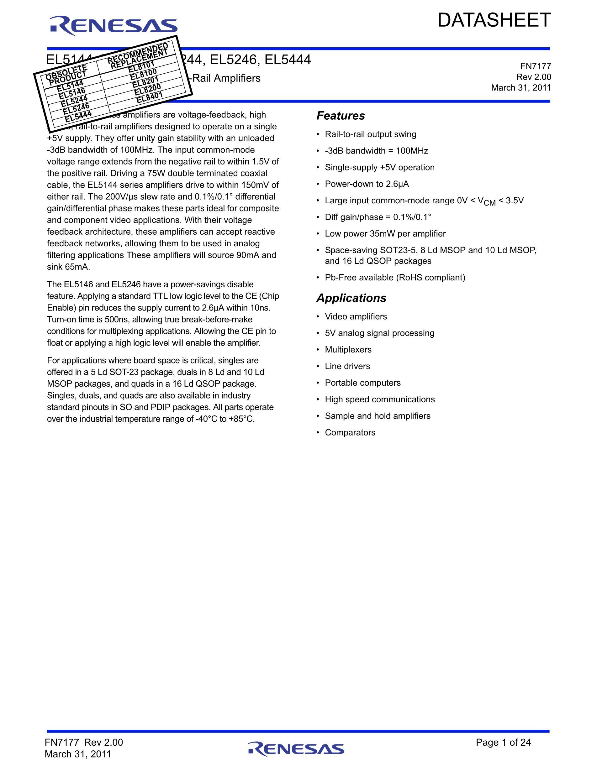 EL5244CS's pdf picture 1