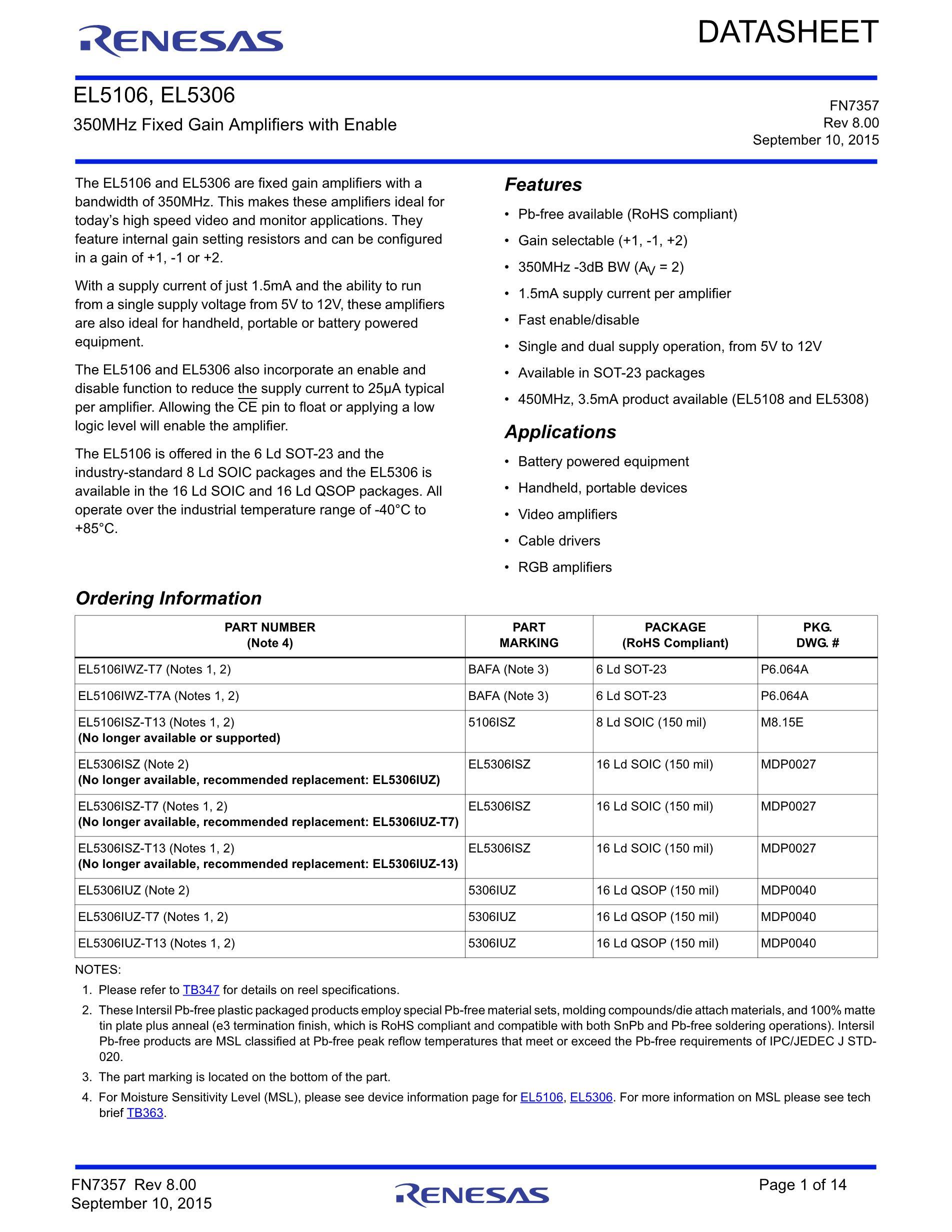 EL5302IU-T13's pdf picture 1