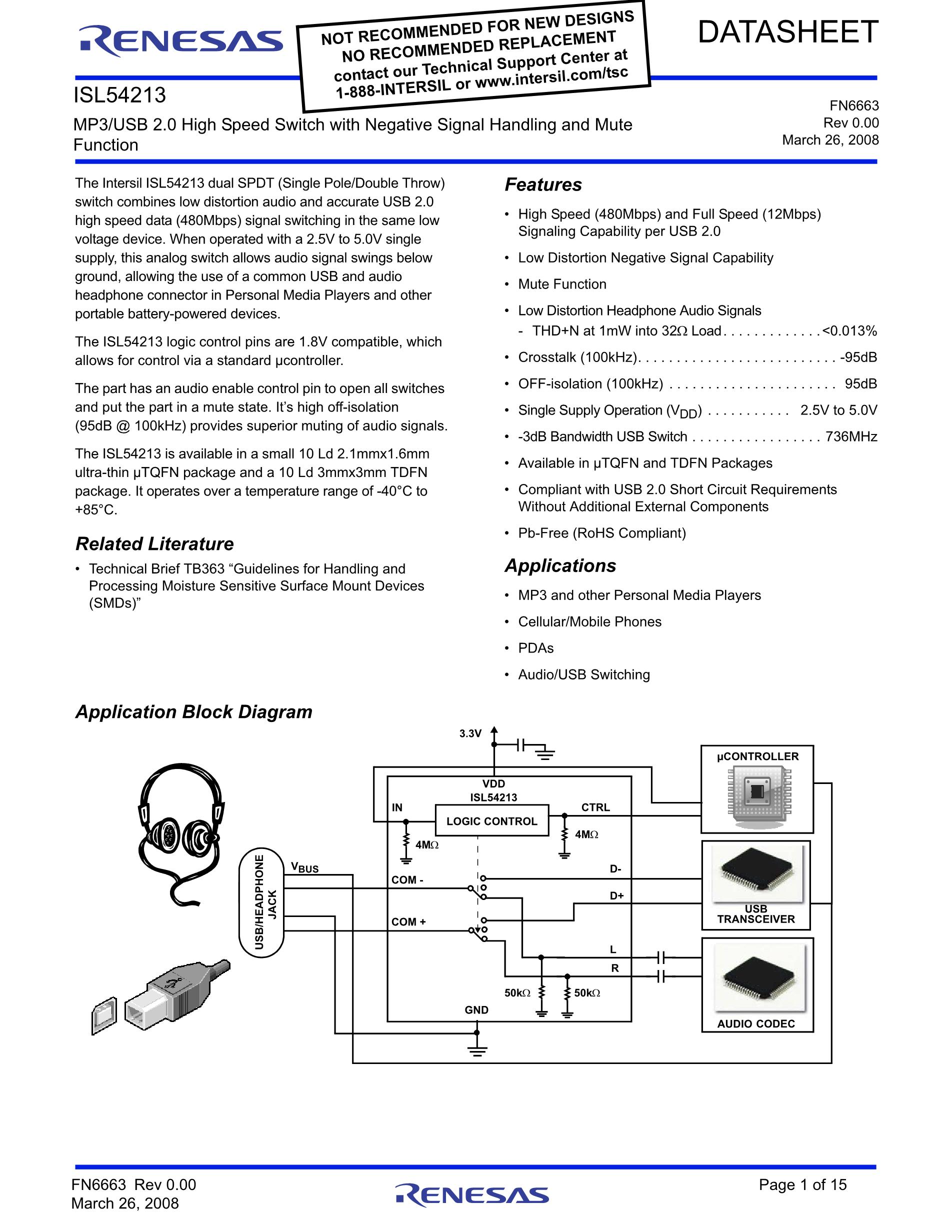 ISL58315CRTZ-T7's pdf picture 1
