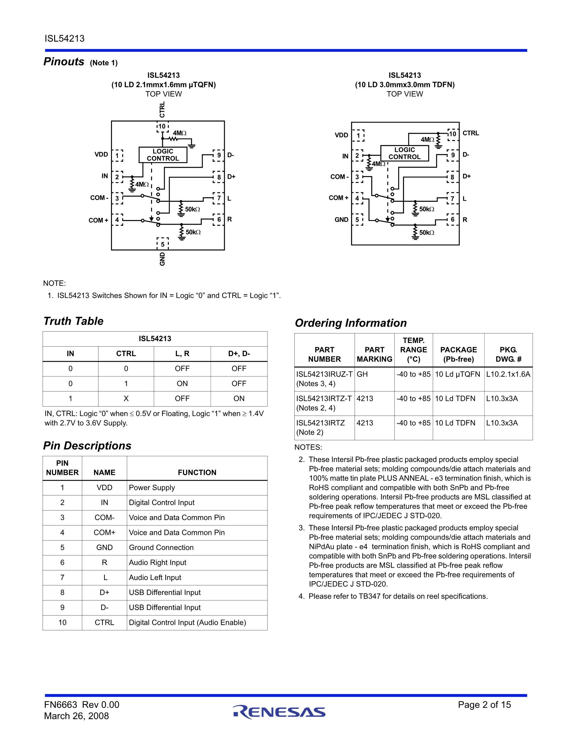 ISL58315CRTZ-T7's pdf picture 2