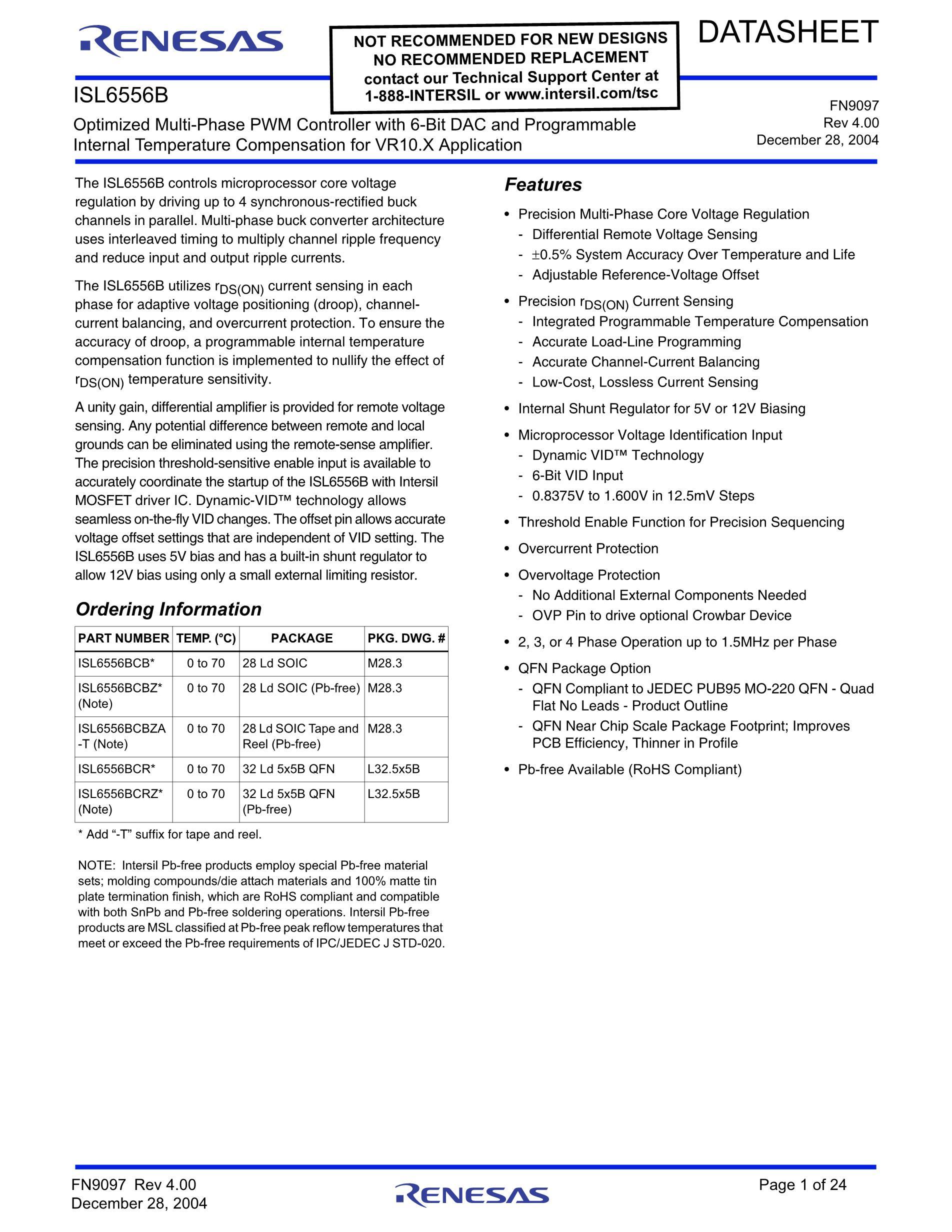 ISL6556BCR-T's pdf picture 1