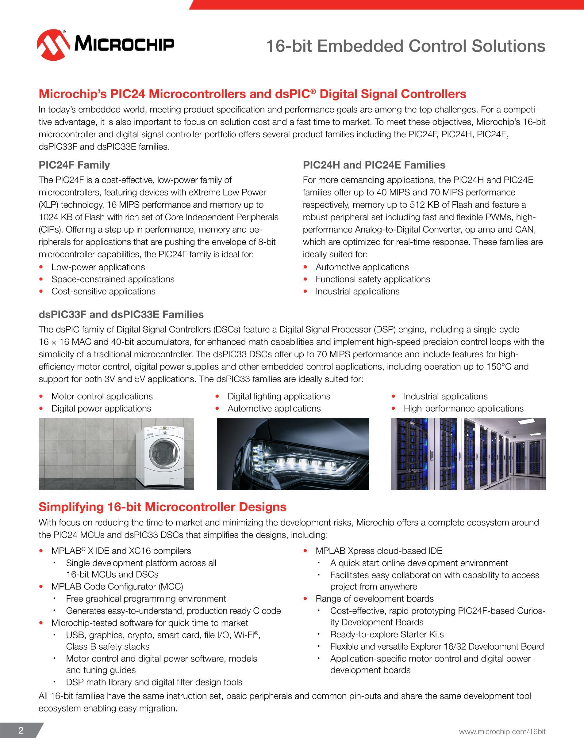 DSPIC33FJ16GP102-E/SP's pdf picture 2