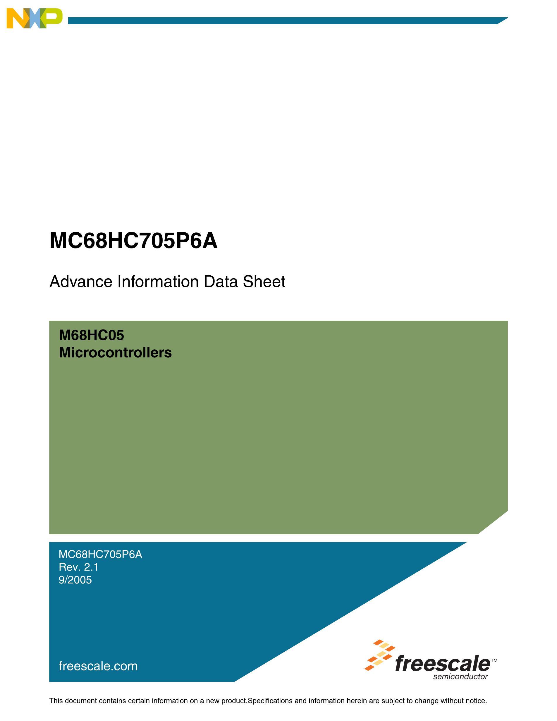 MC705C8ACPE's pdf picture 1