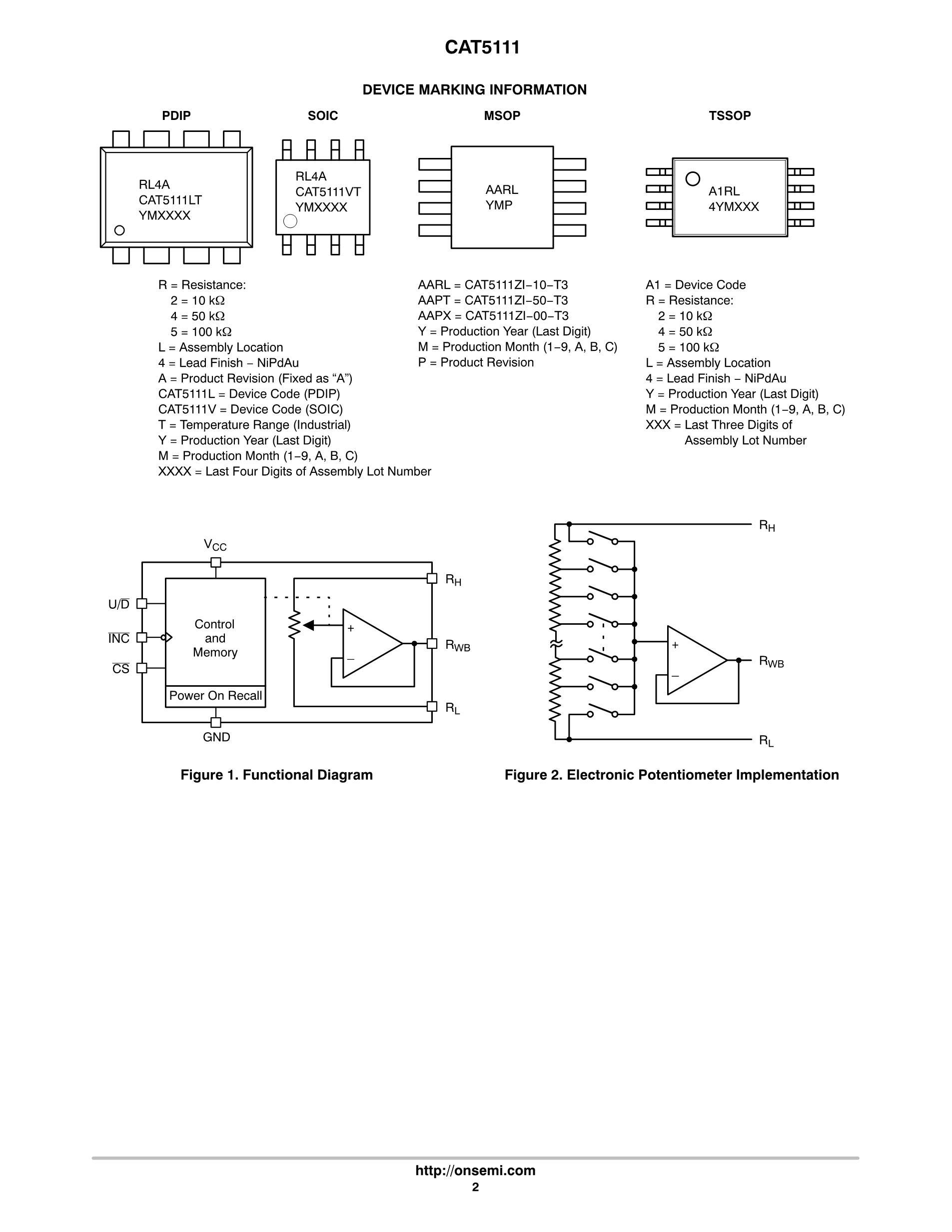 CAT5113YI-01-T3's pdf picture 2