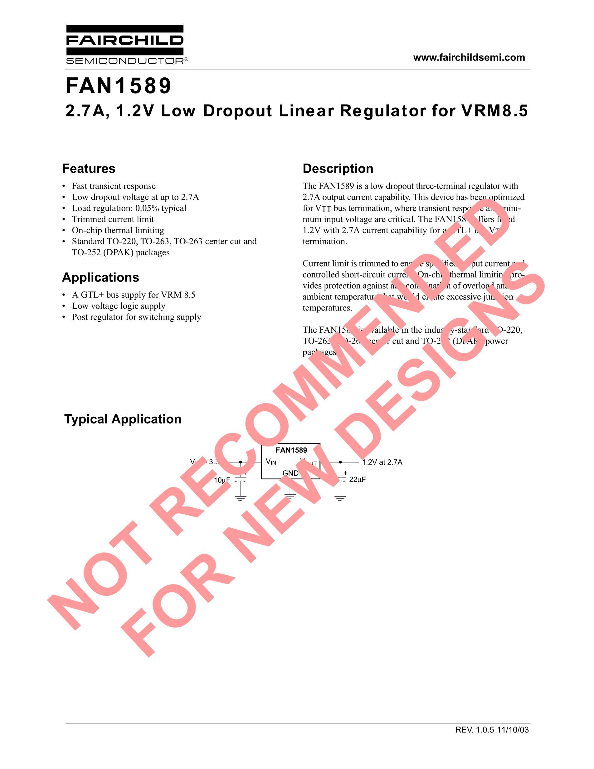 FAN1587ADX's pdf picture 1