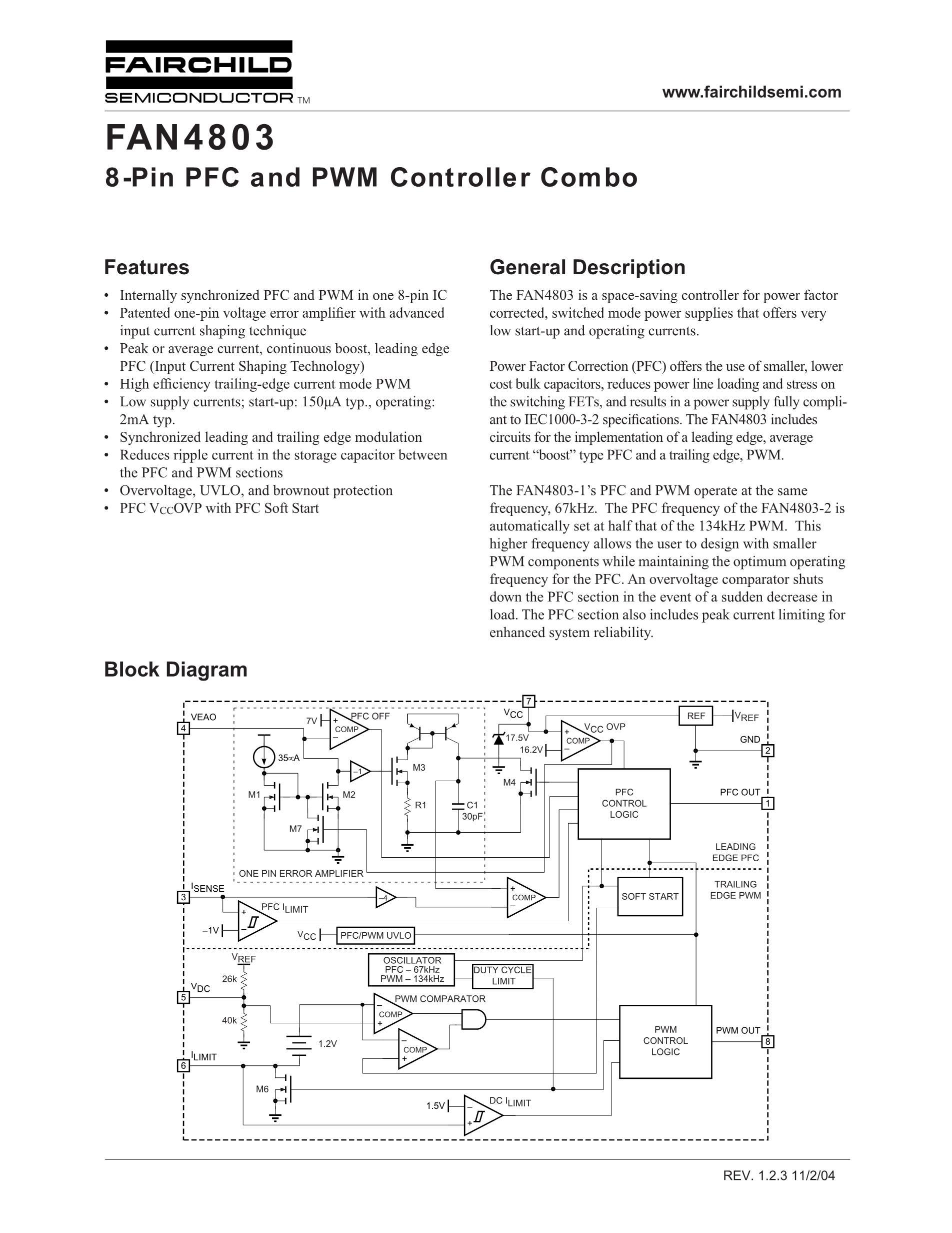 FAN4800AUN's pdf picture 1