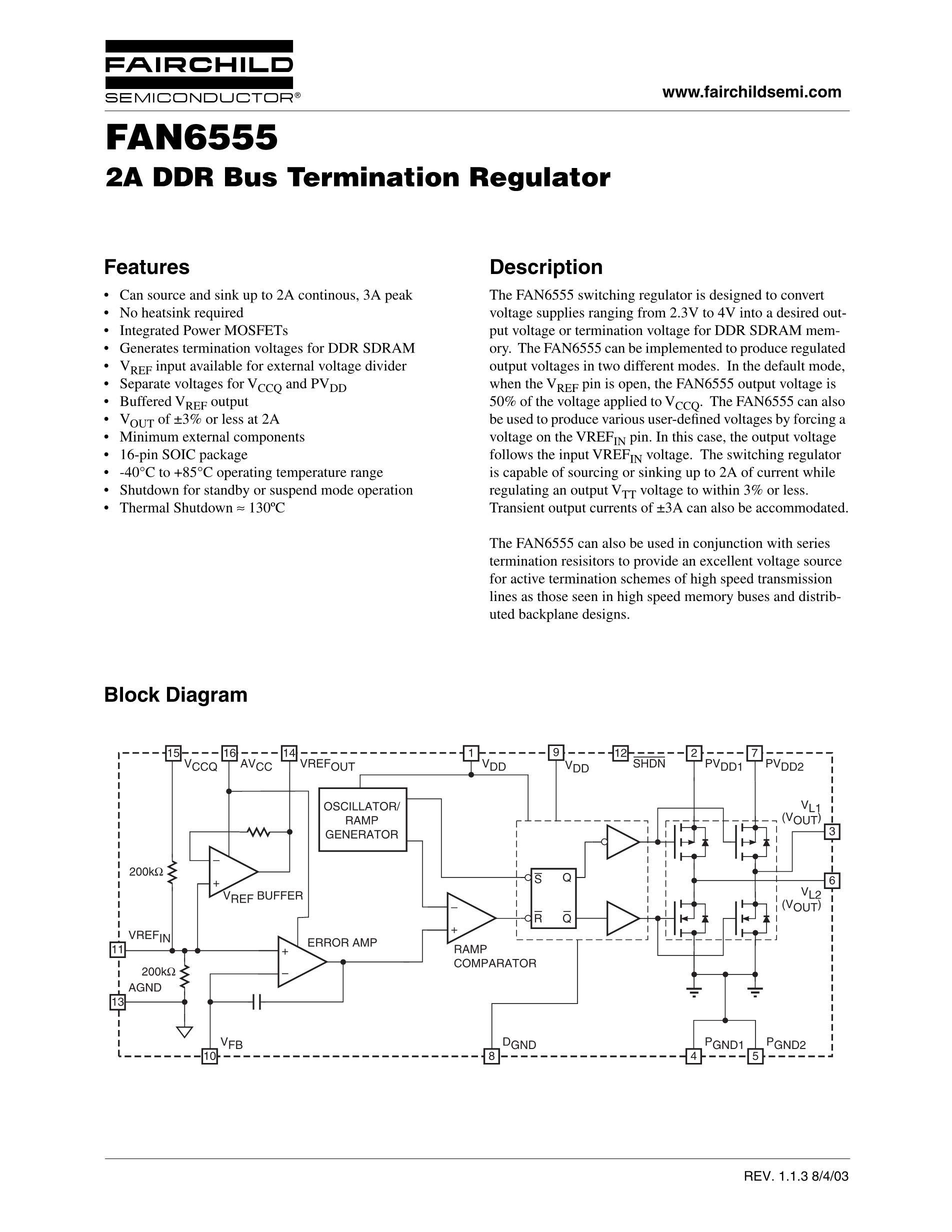 FAN6921MLMY's pdf picture 1