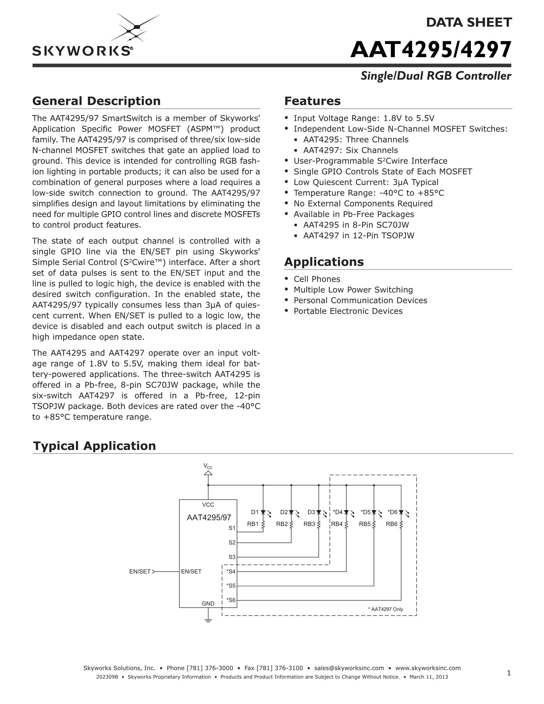 AAT4295IJS-T1's pdf picture 1