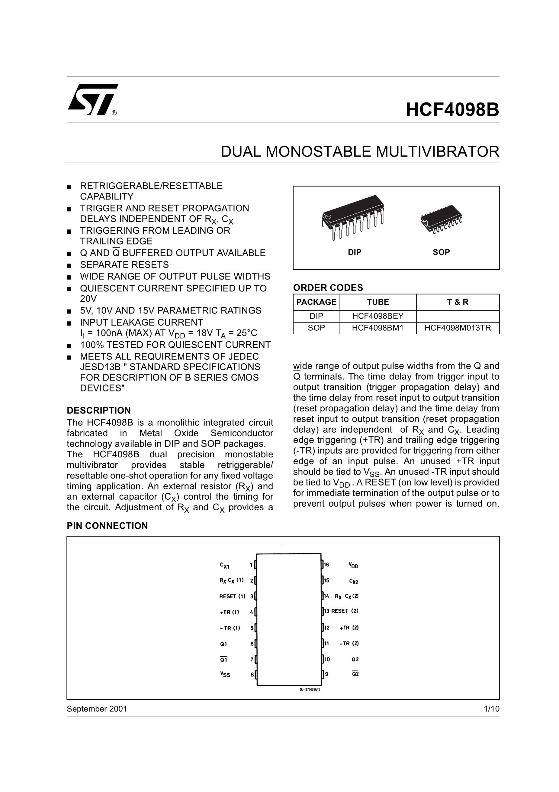 HCF4098M013TR's pdf picture 1