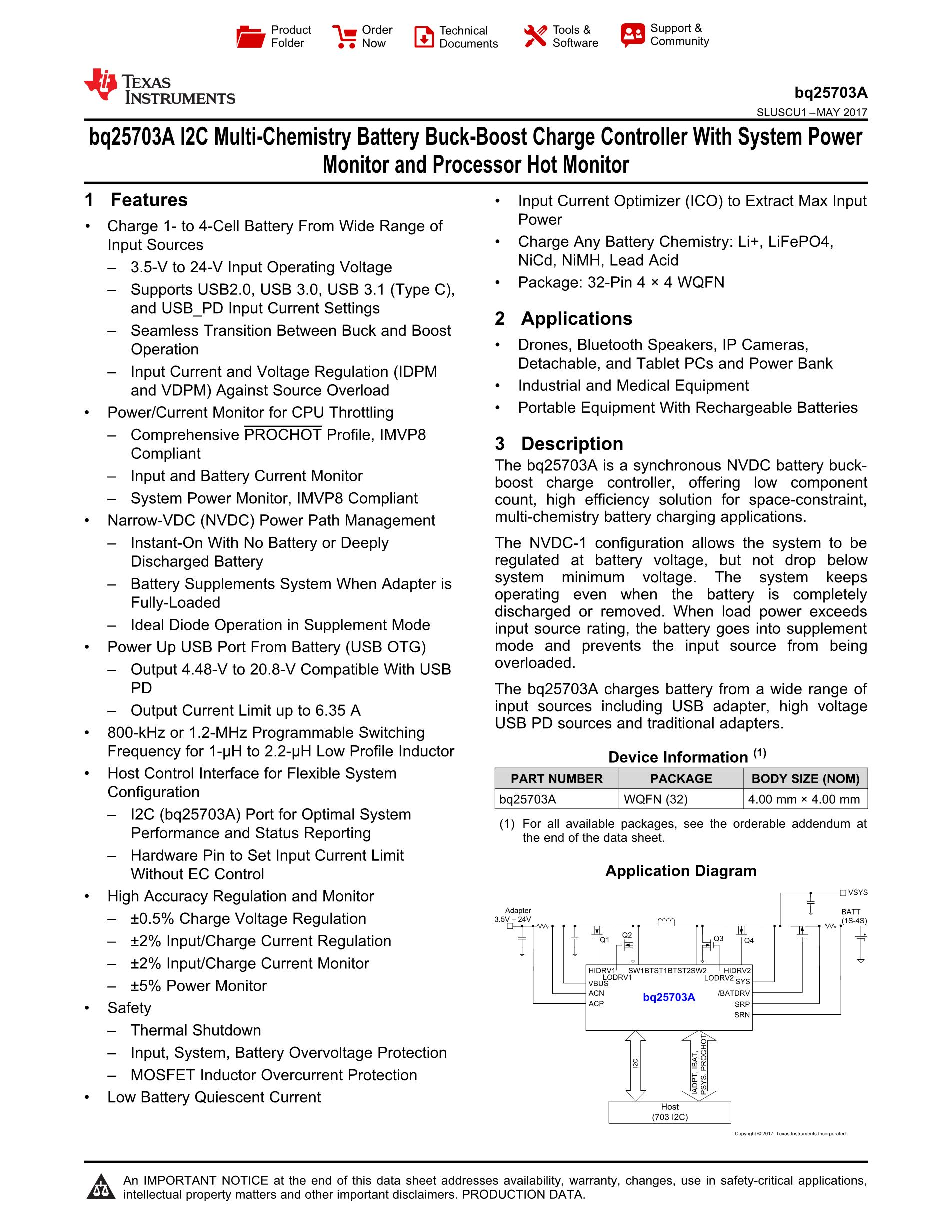 BQ25971YFFT's pdf picture 1