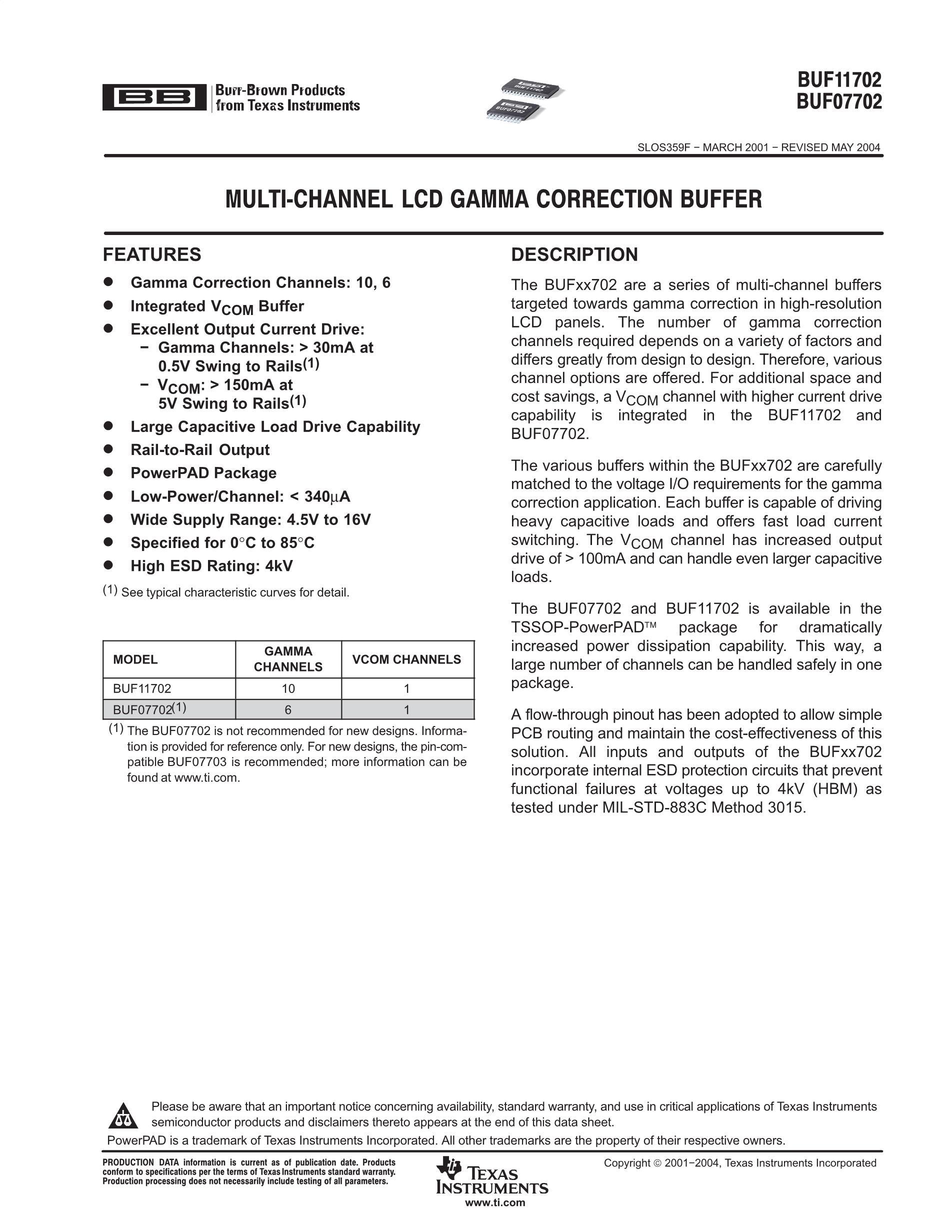 BUF11704AIPWPR's pdf picture 1