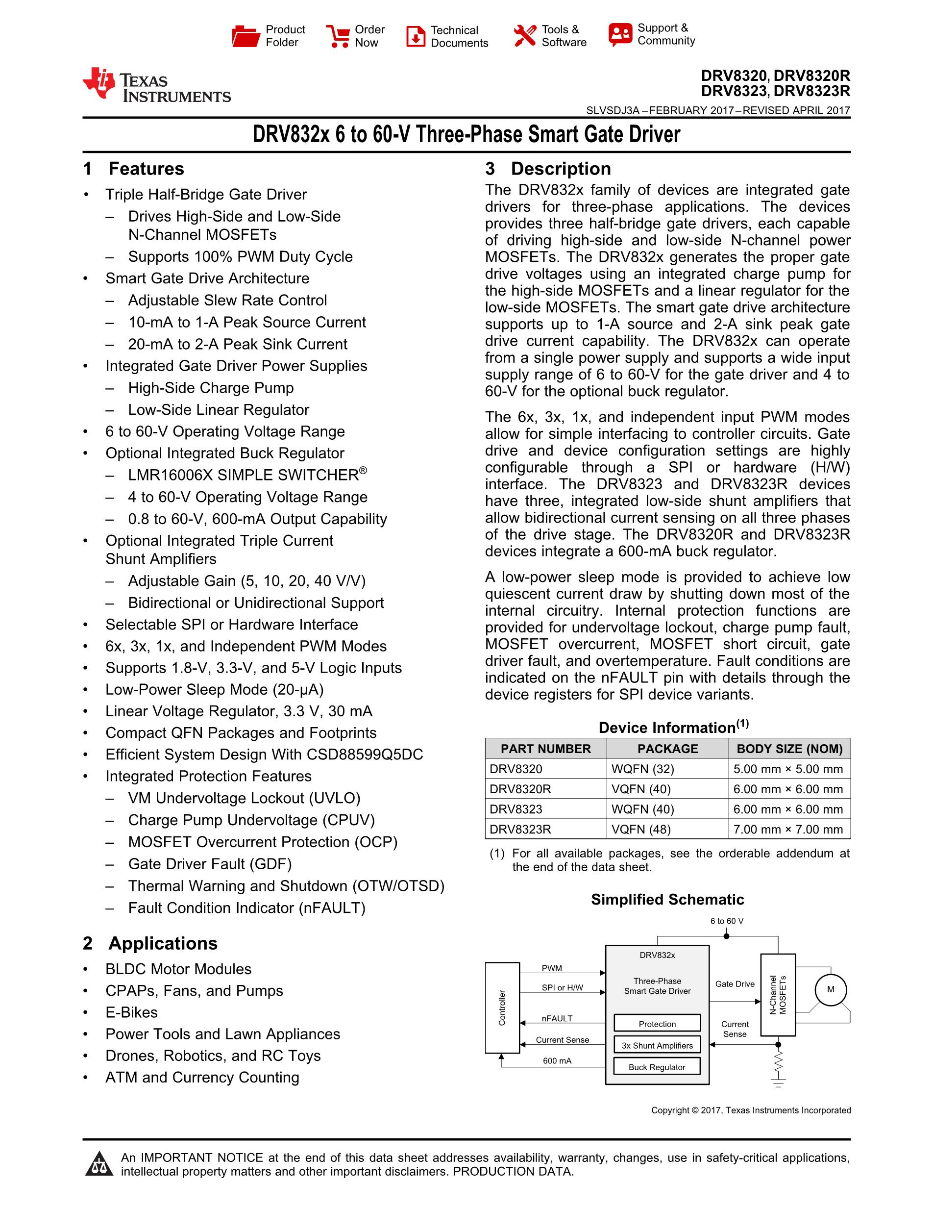 DRV8800RTYR's pdf picture 1