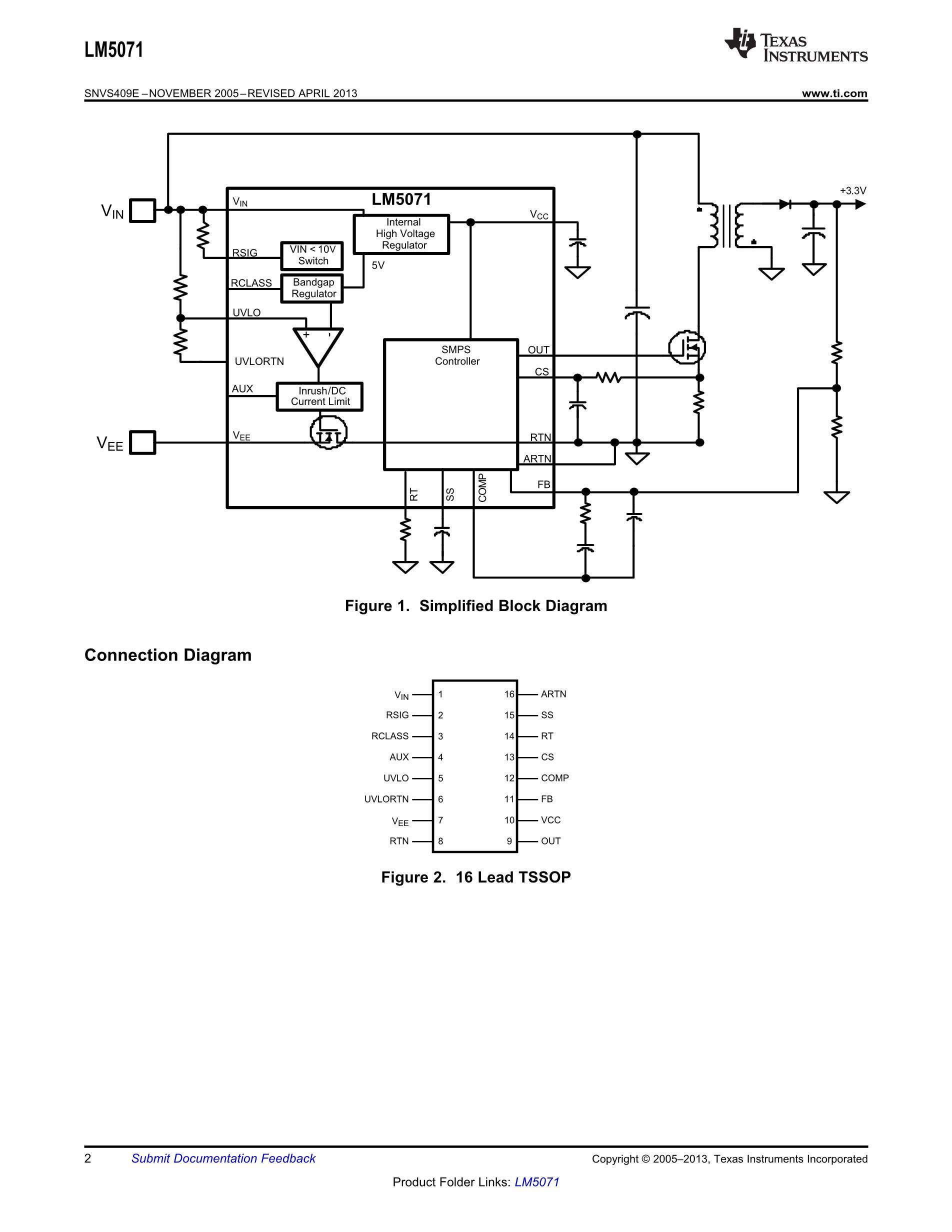 LM5071MTX-80/NOPB's pdf picture 2