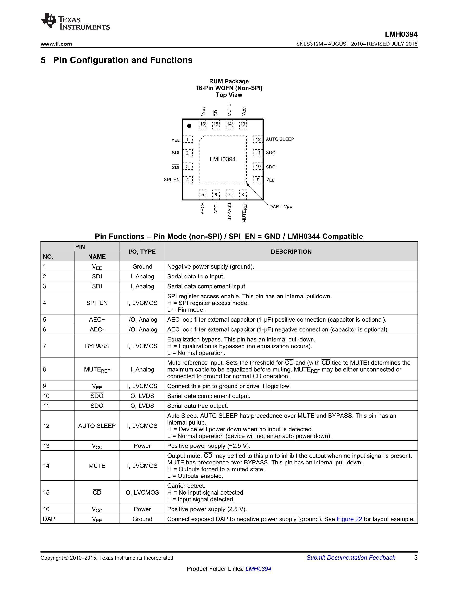LMH0341SQ/NOPB's pdf picture 3