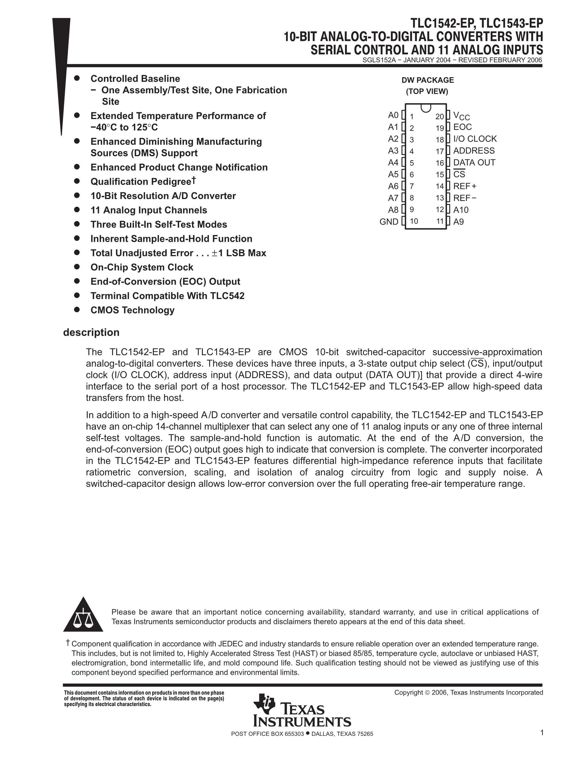 TLC1551IDWR's pdf picture 1