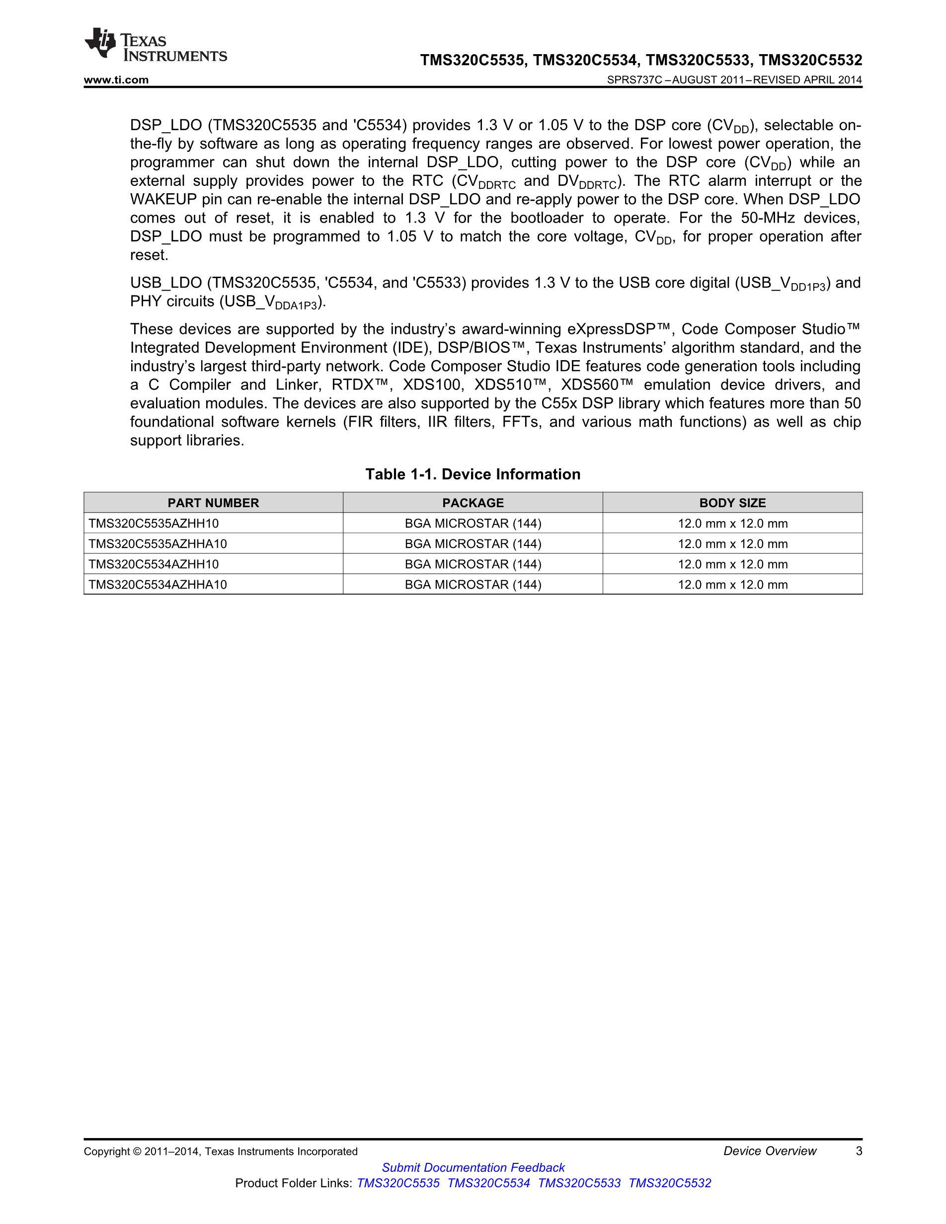 TMX320C5505AZCH12's pdf picture 3