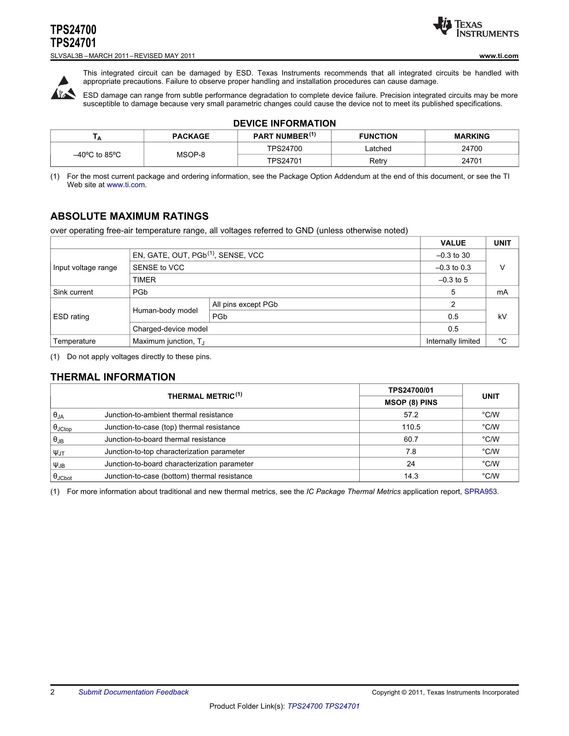 TPS24701DGK's pdf picture 2