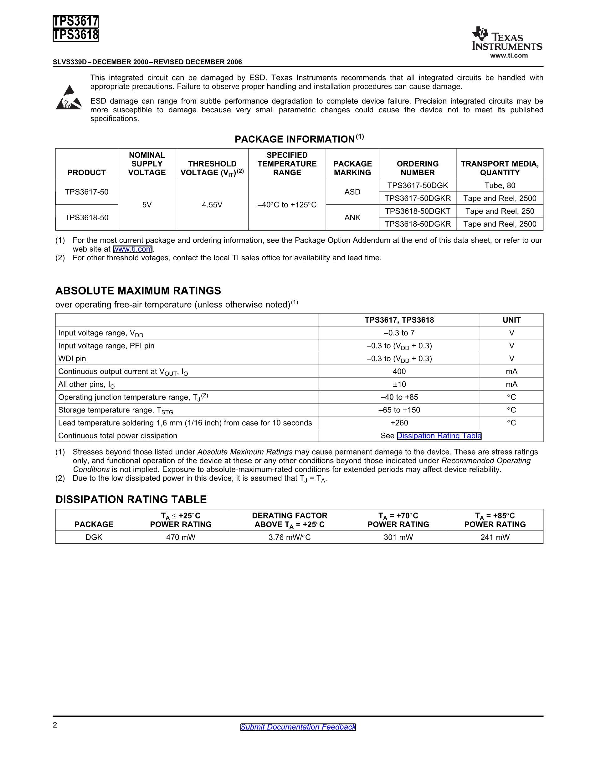 TPS3809K33DBVR's pdf picture 2