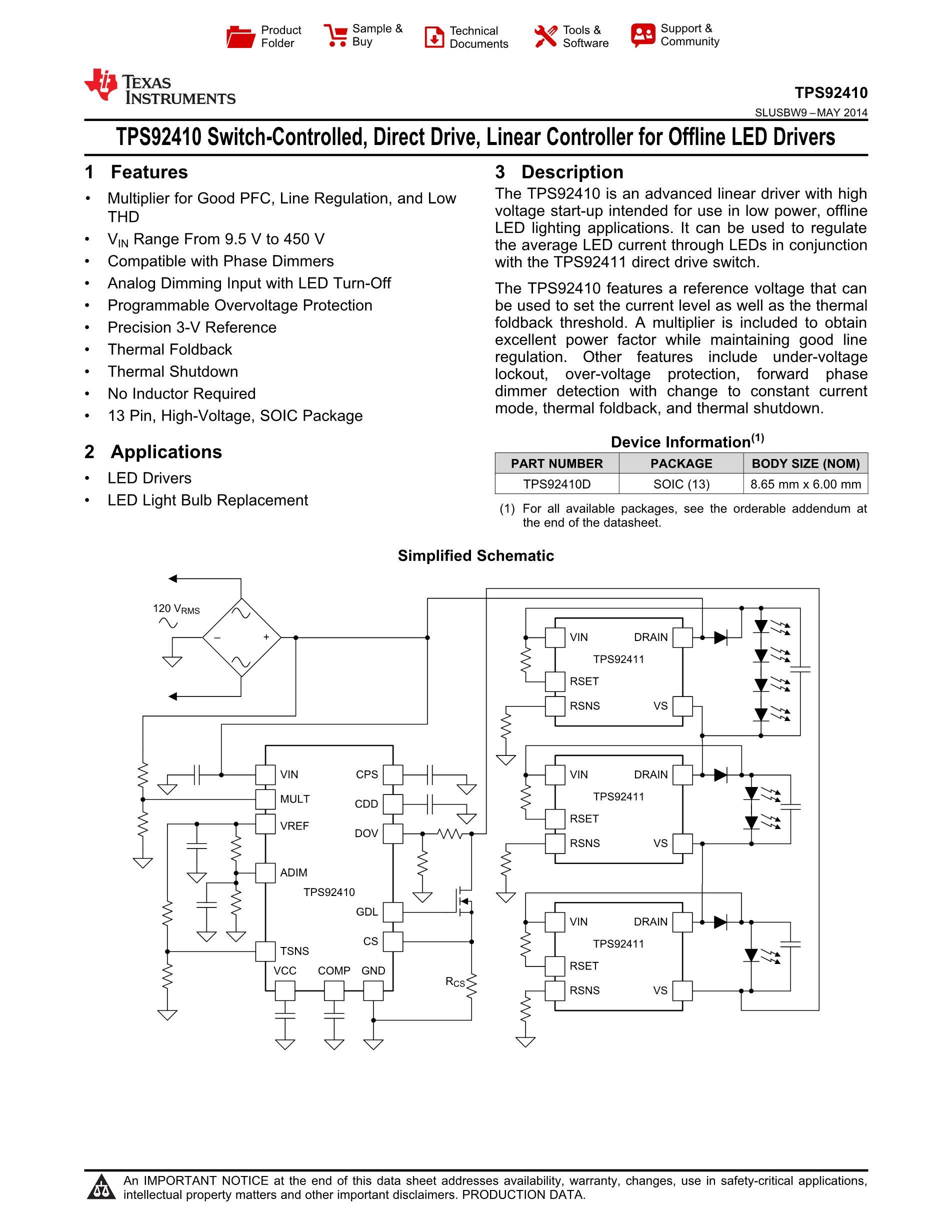 TPS92518PWPR's pdf picture 1