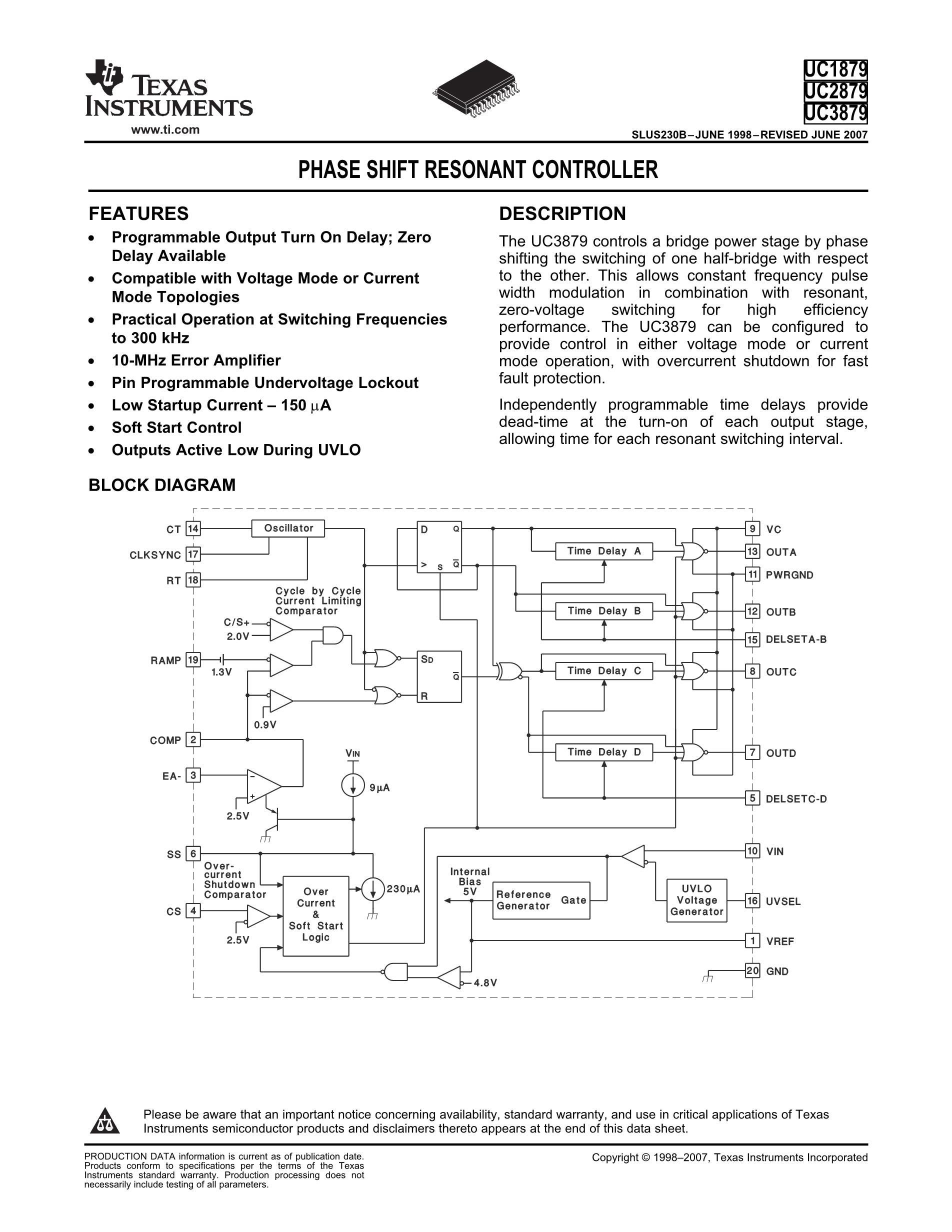 UC2879DWTR's pdf picture 1