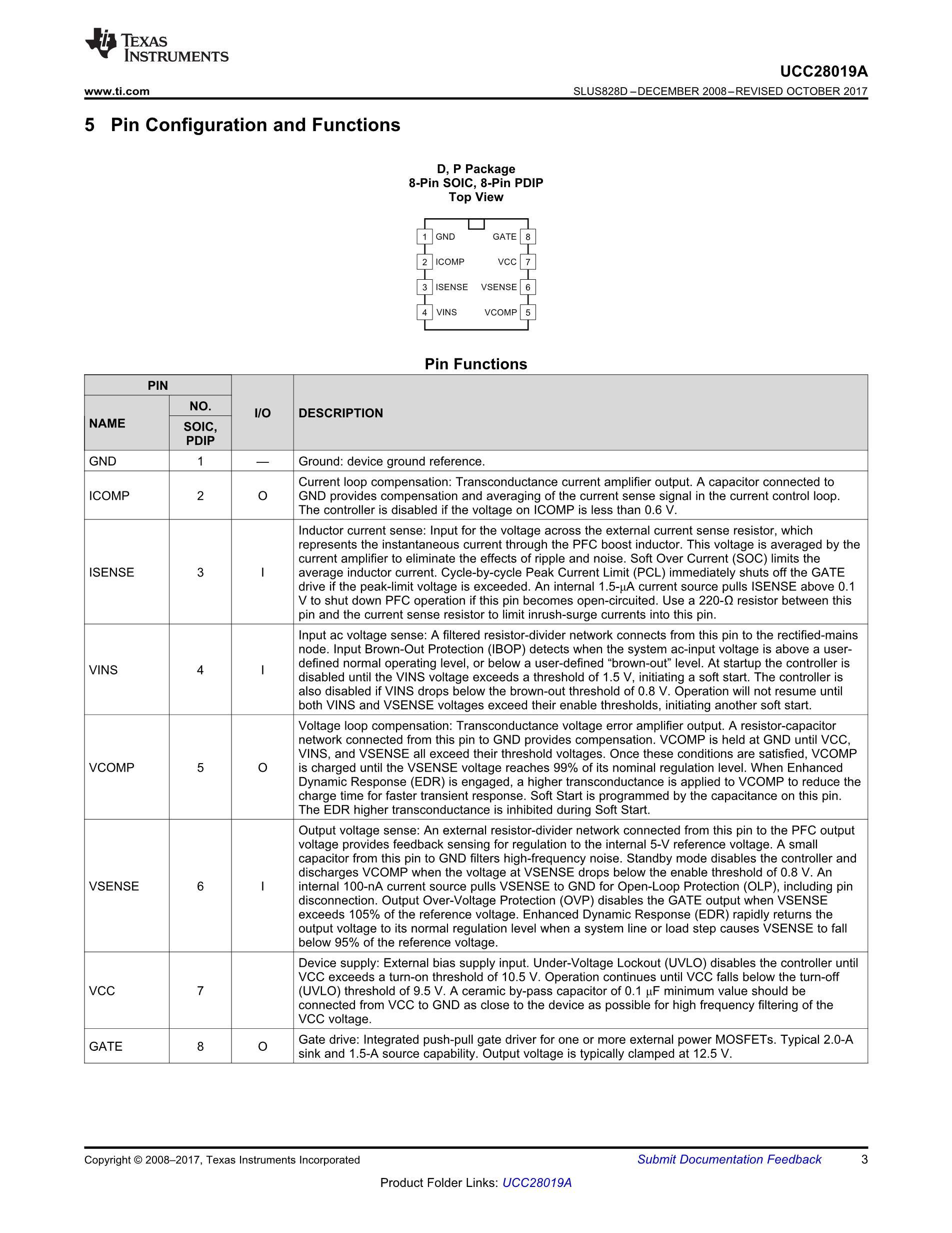 UCC28019AP's pdf picture 3