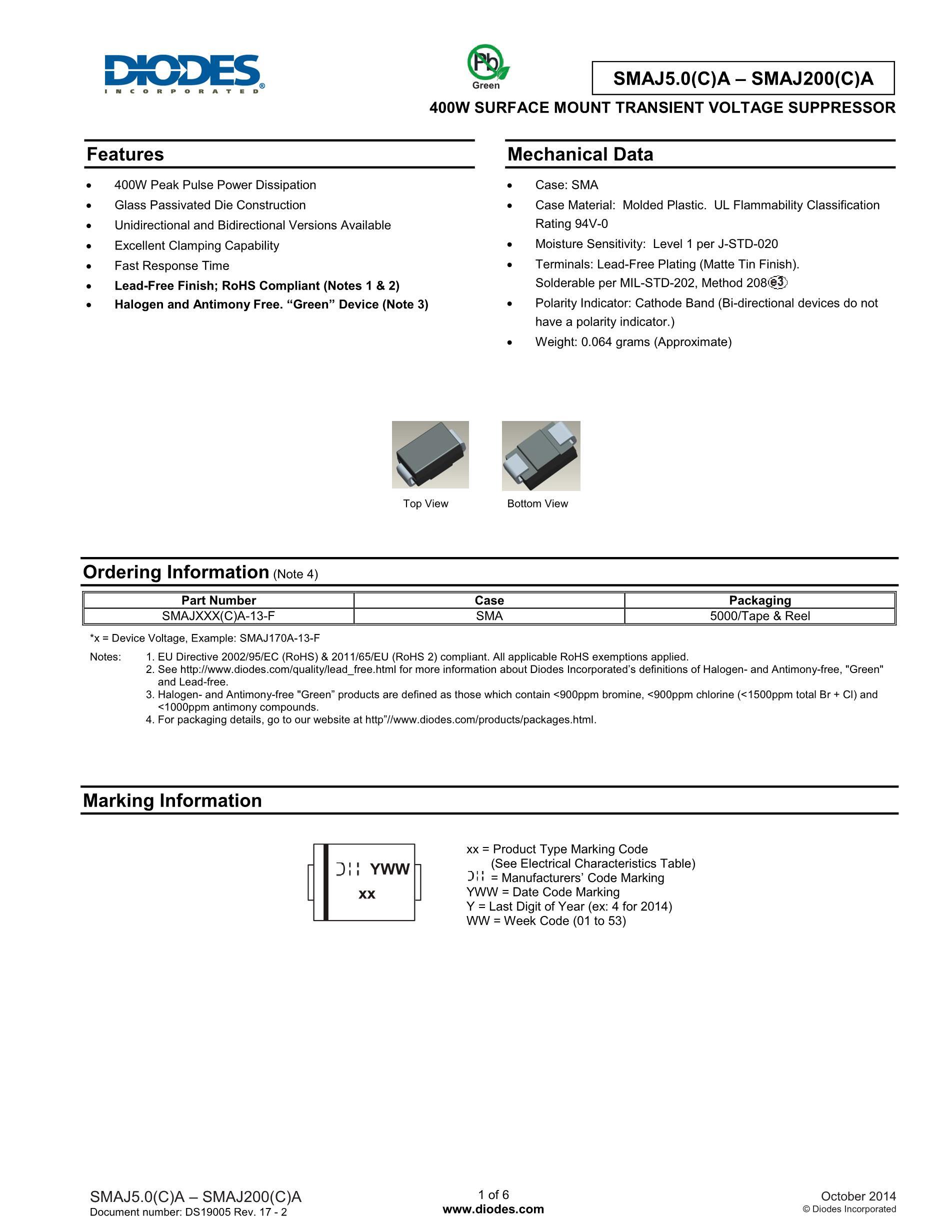 SMAJ27A's pdf picture 1