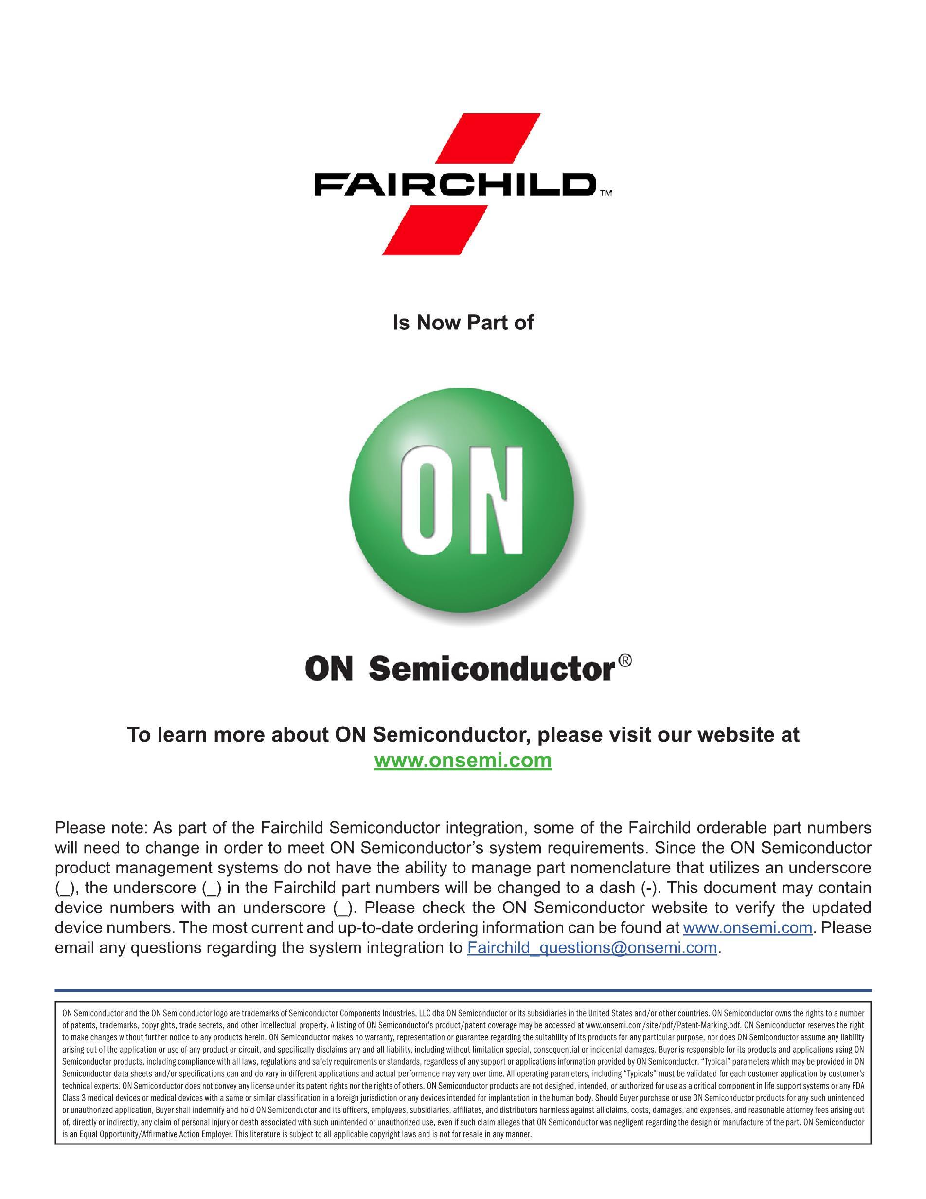 FQP7N80C's pdf picture 1