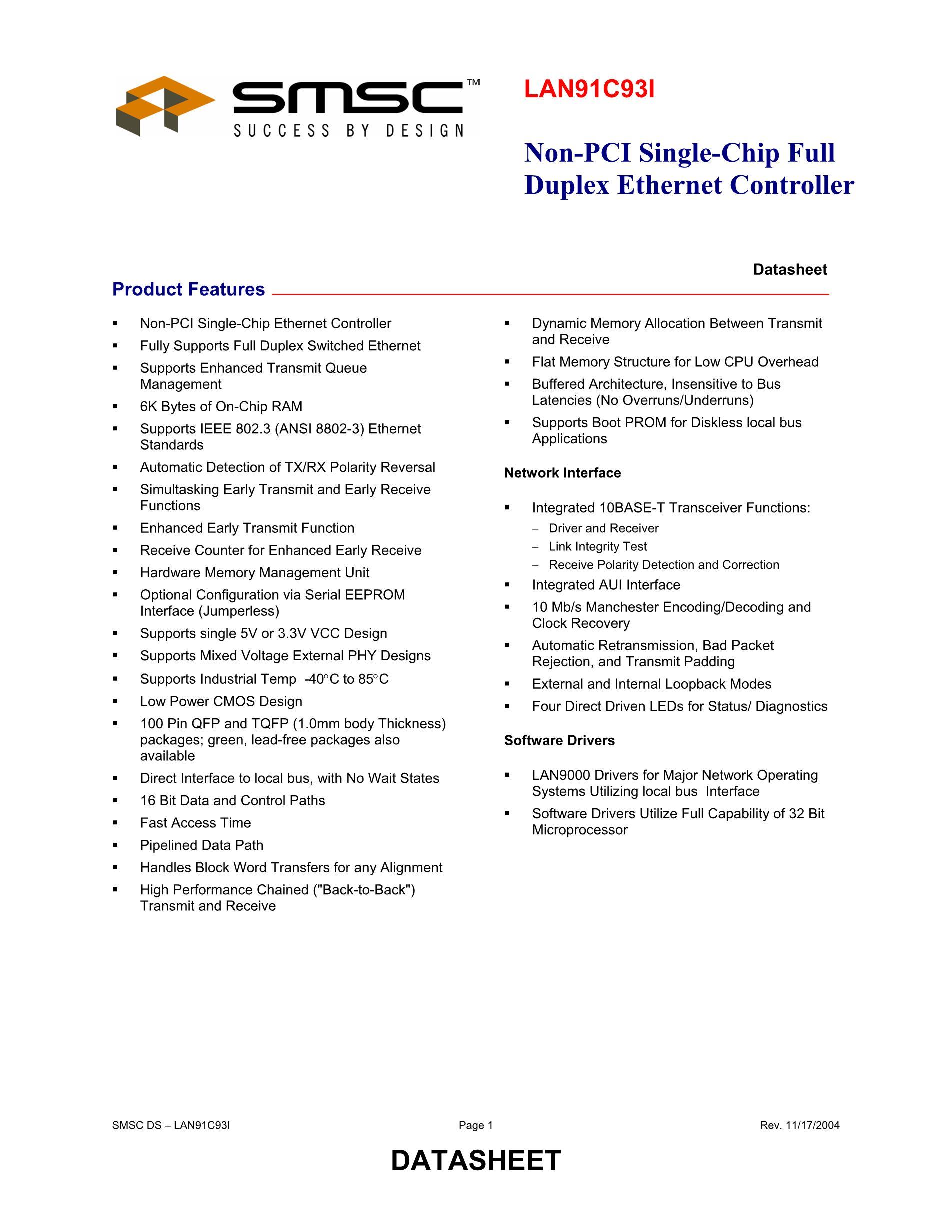 LAN9354T/ML's pdf picture 1