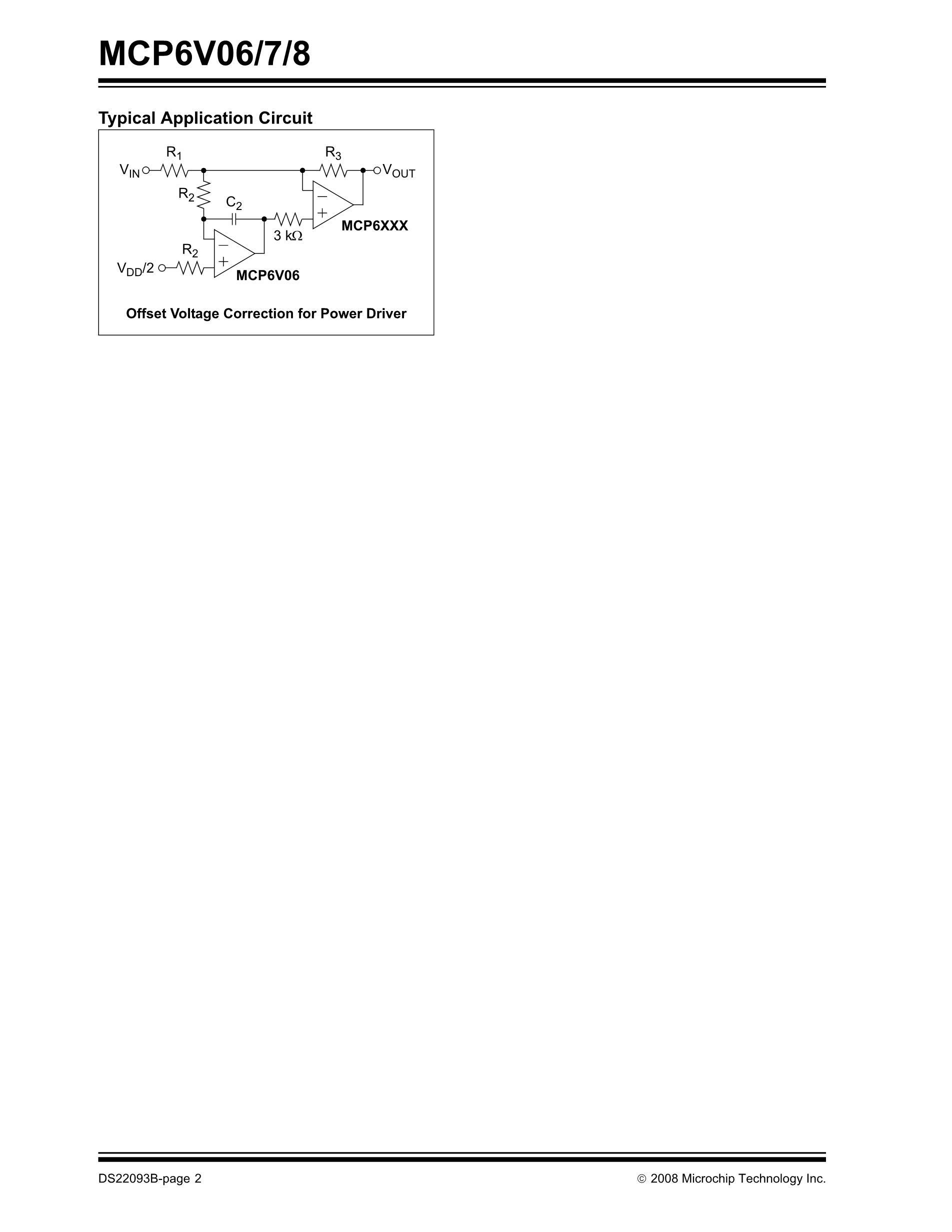 MCP6541T-I/LT's pdf picture 2