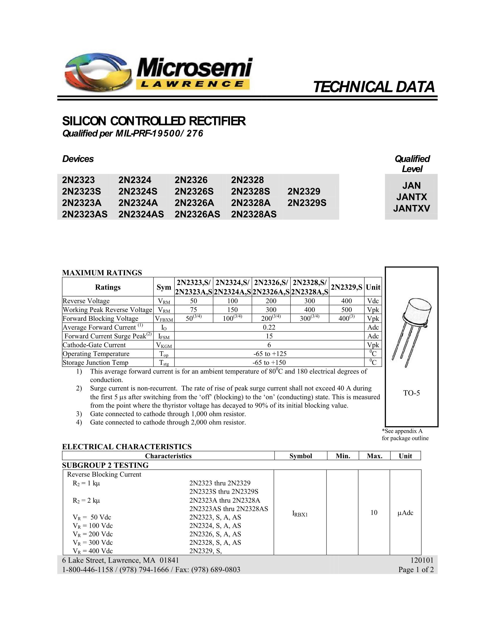JANTXV1N5295-1's pdf picture 1
