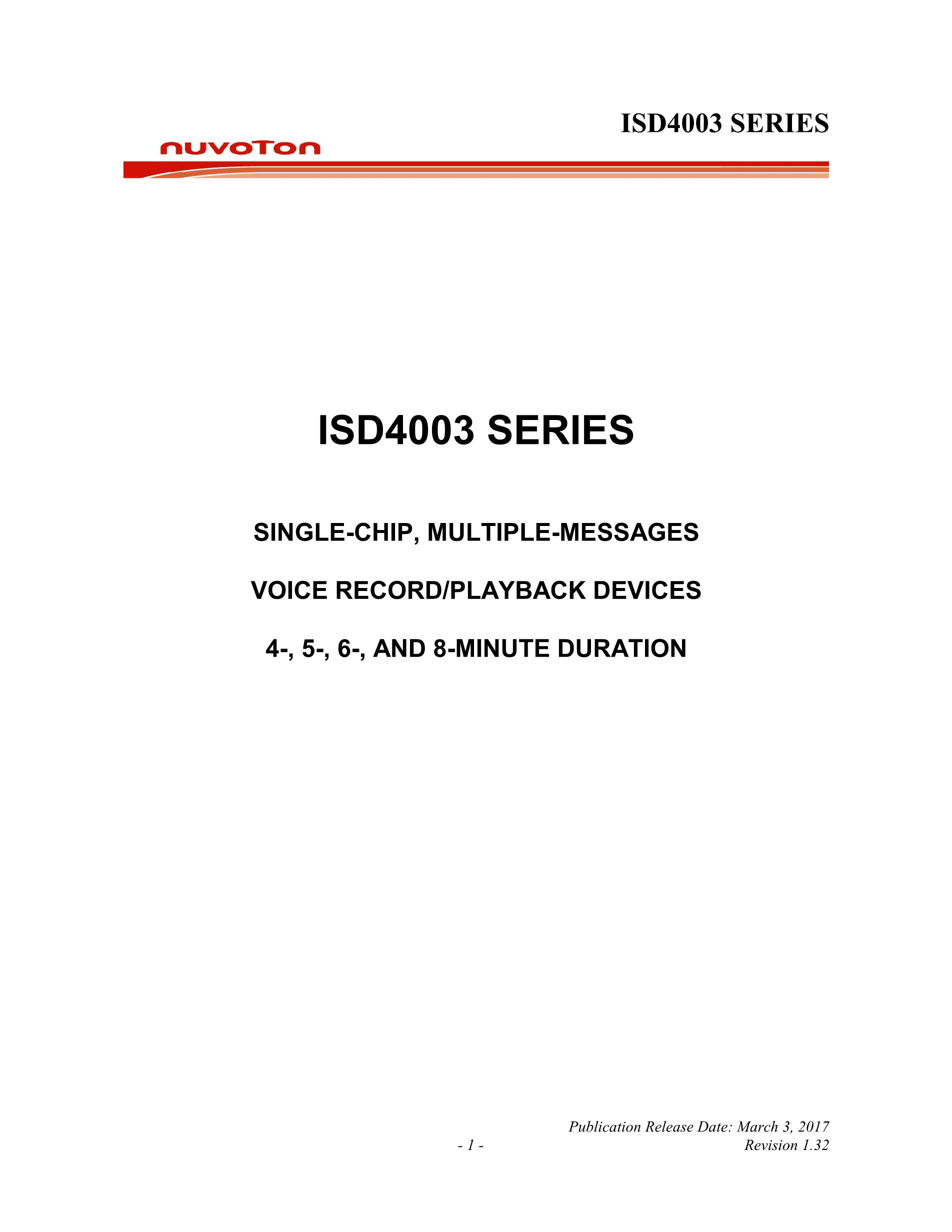 ISD4003-08MEDR's pdf picture 1