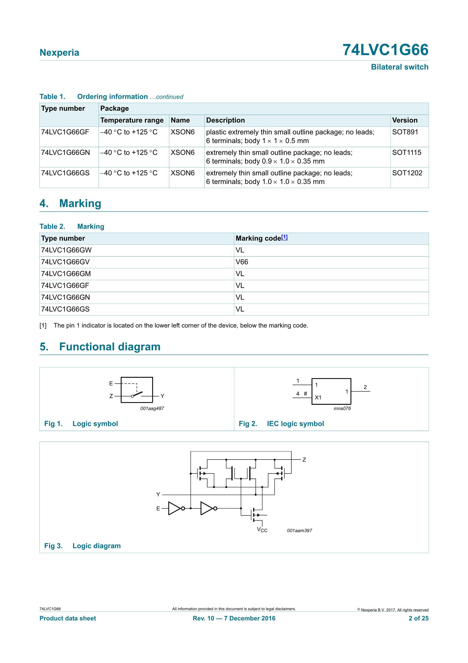 74LVC1G66GW's pdf picture 2