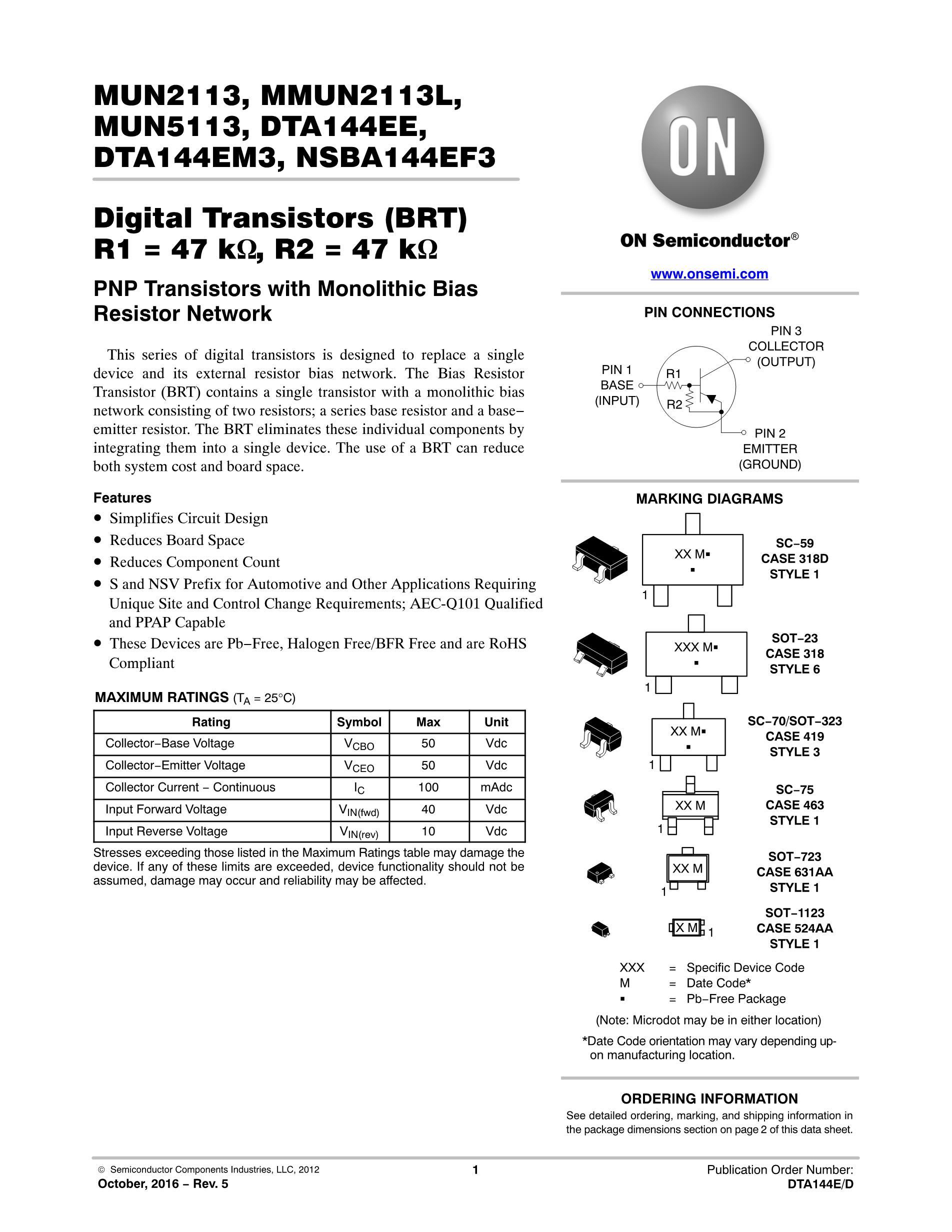 MUN2111T1's pdf picture 1