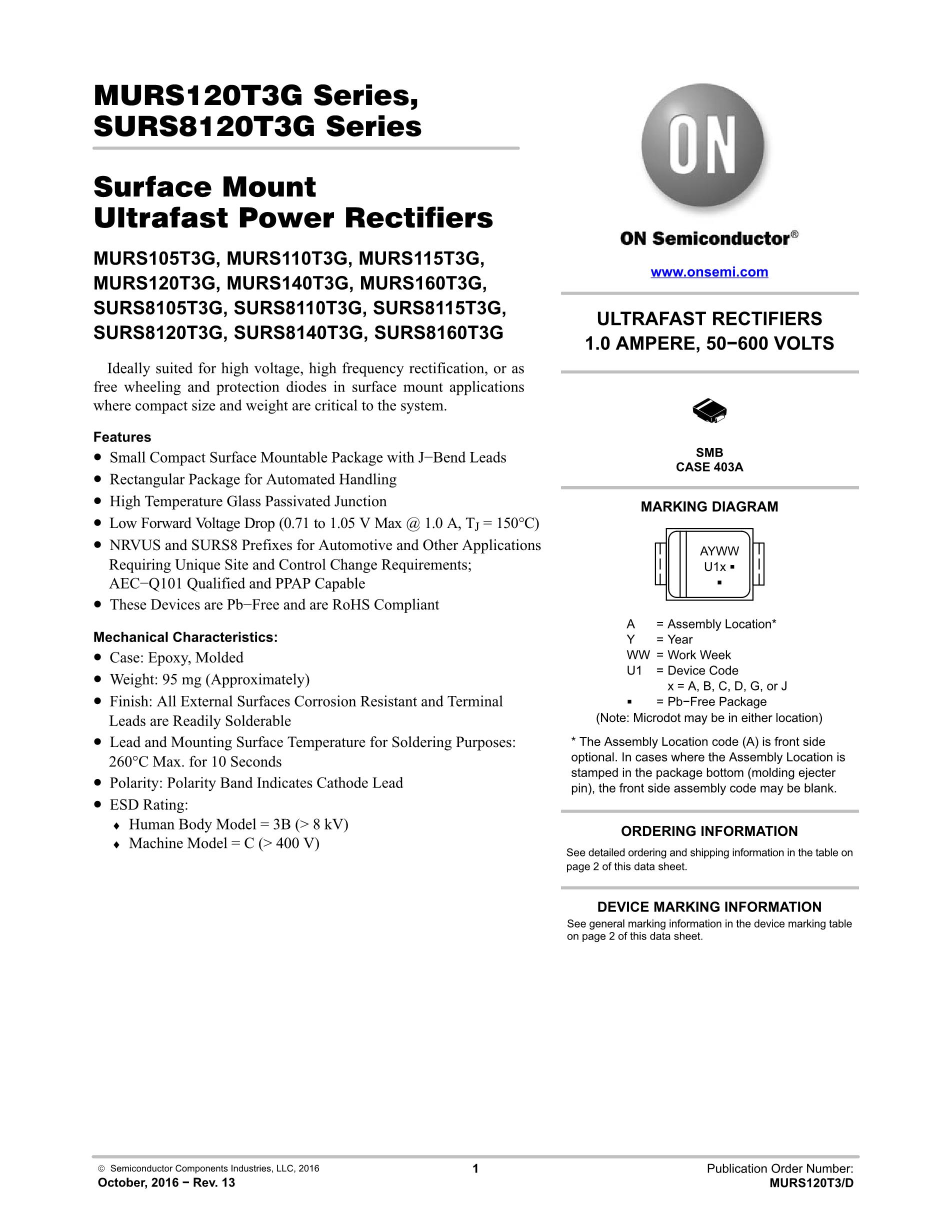 MURS320T3G's pdf picture 1