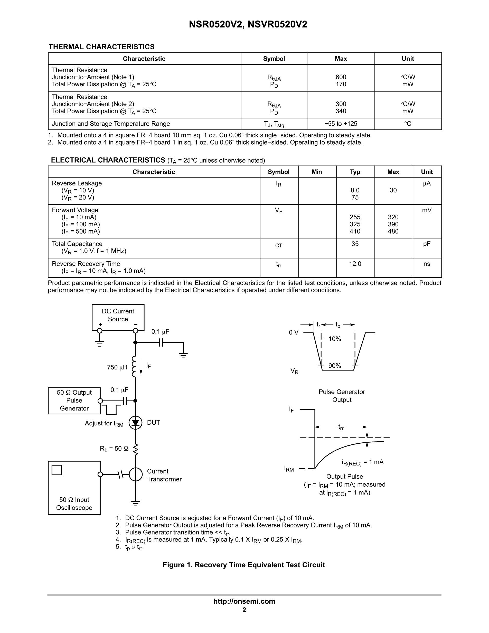 NSR05F40NXT5G's pdf picture 2