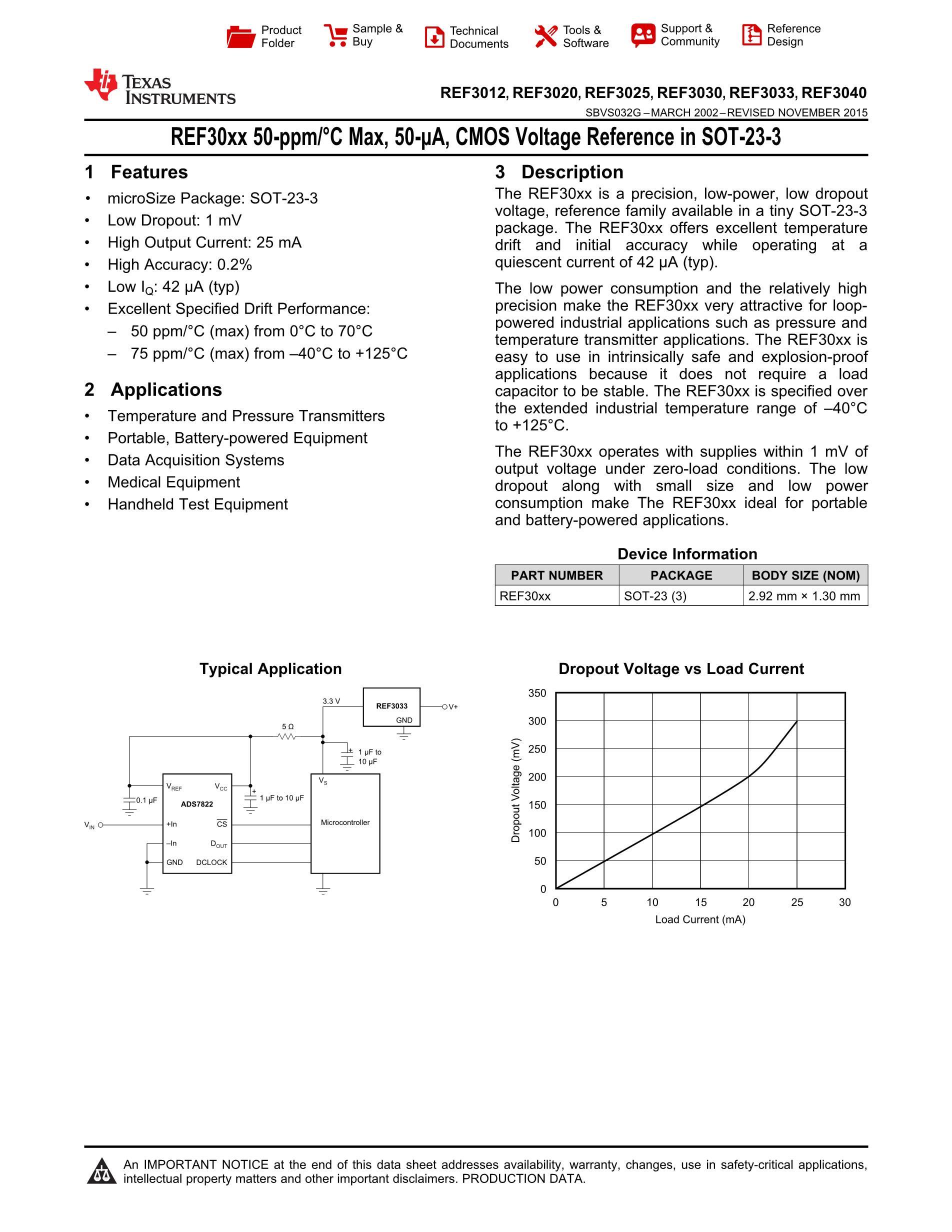 REF3133AIDBZR's pdf picture 1