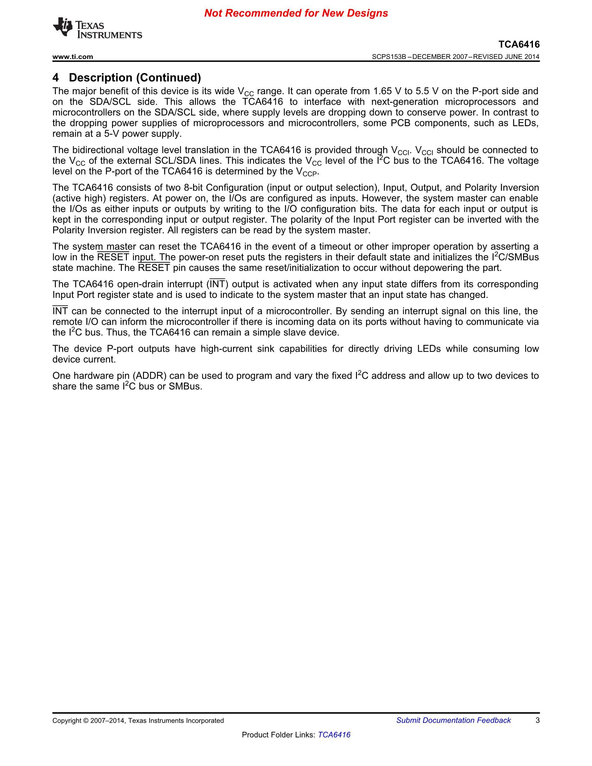 TCA6416APWR's pdf picture 3